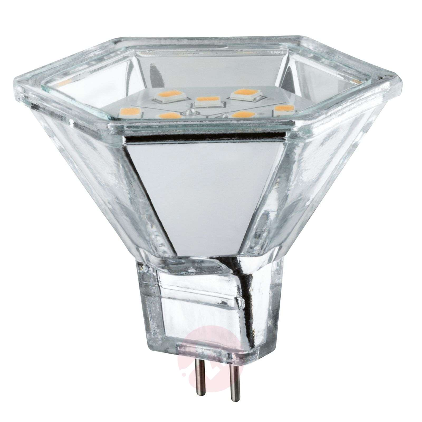 LED à réflecteur GU5,3 MR16 2W 827 Diamond Hexa-7600698-02