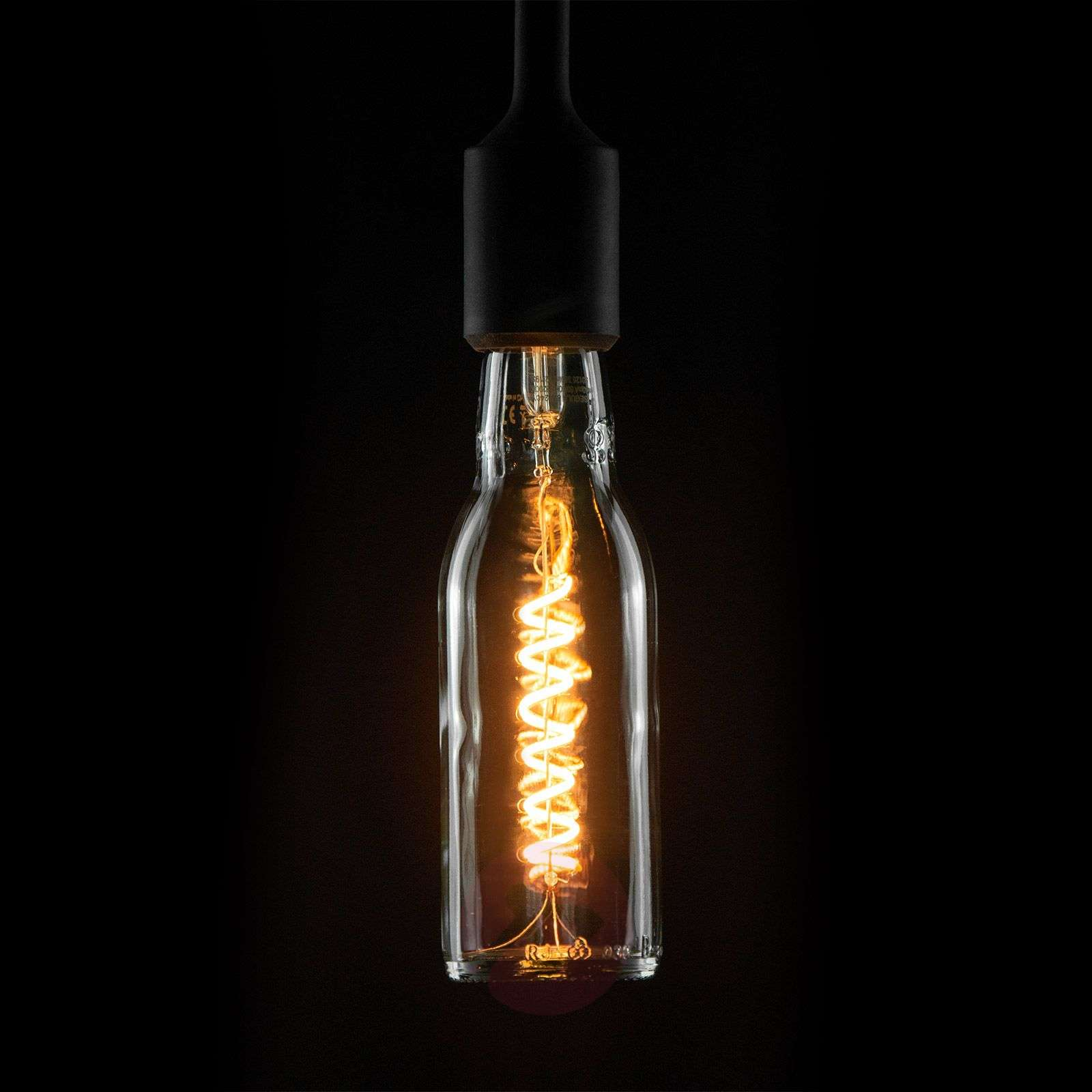 LED Beer Bulb E27 8 W blanc chaud transparent-8536233-01