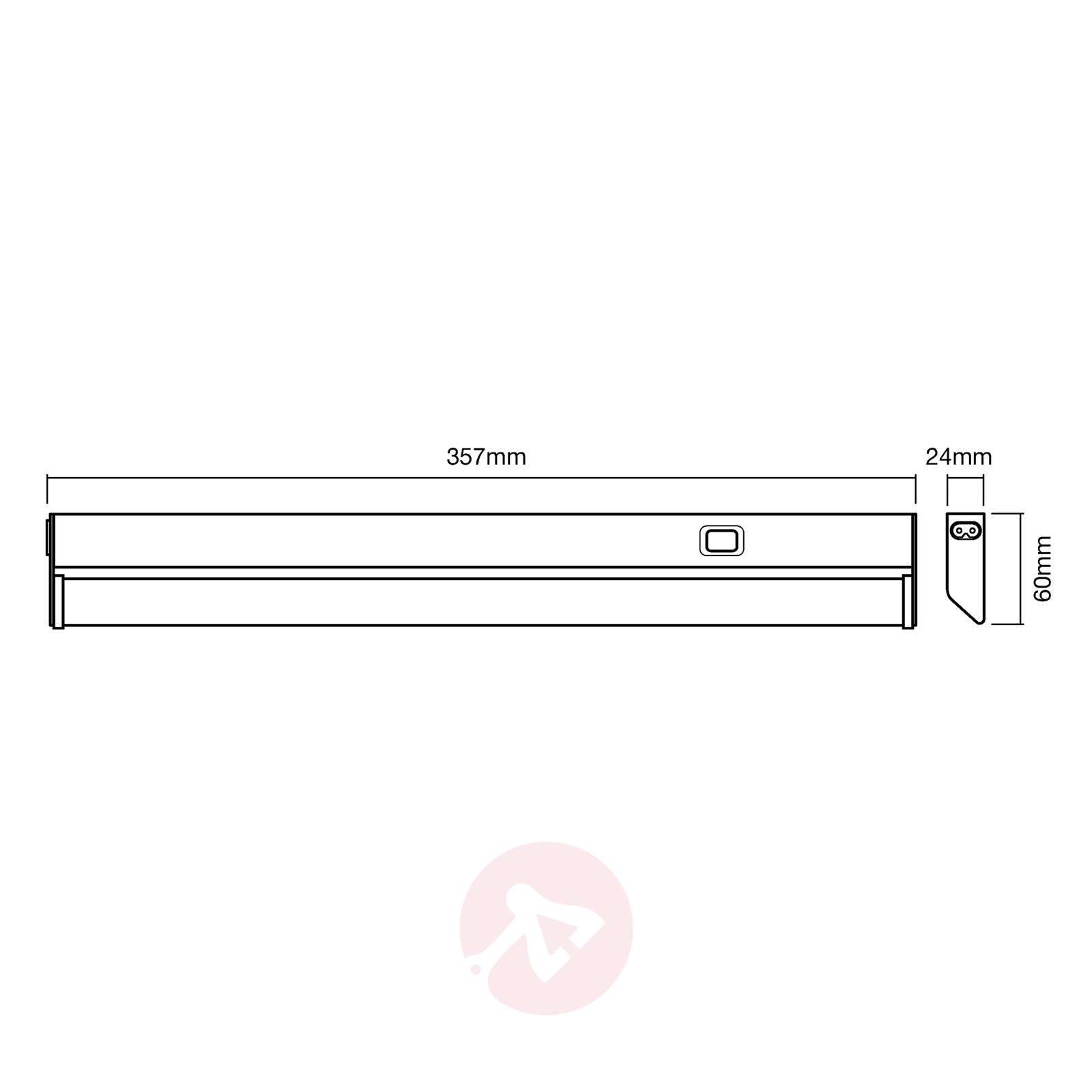 LEDVANCE Linear Turn lampe sous meuble LED, 35 cm-6106052-01