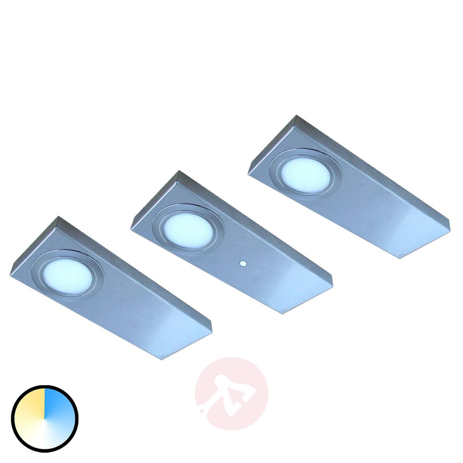 Lot de 3 lampes sous meuble LED Tain Color Switch-3025366-01