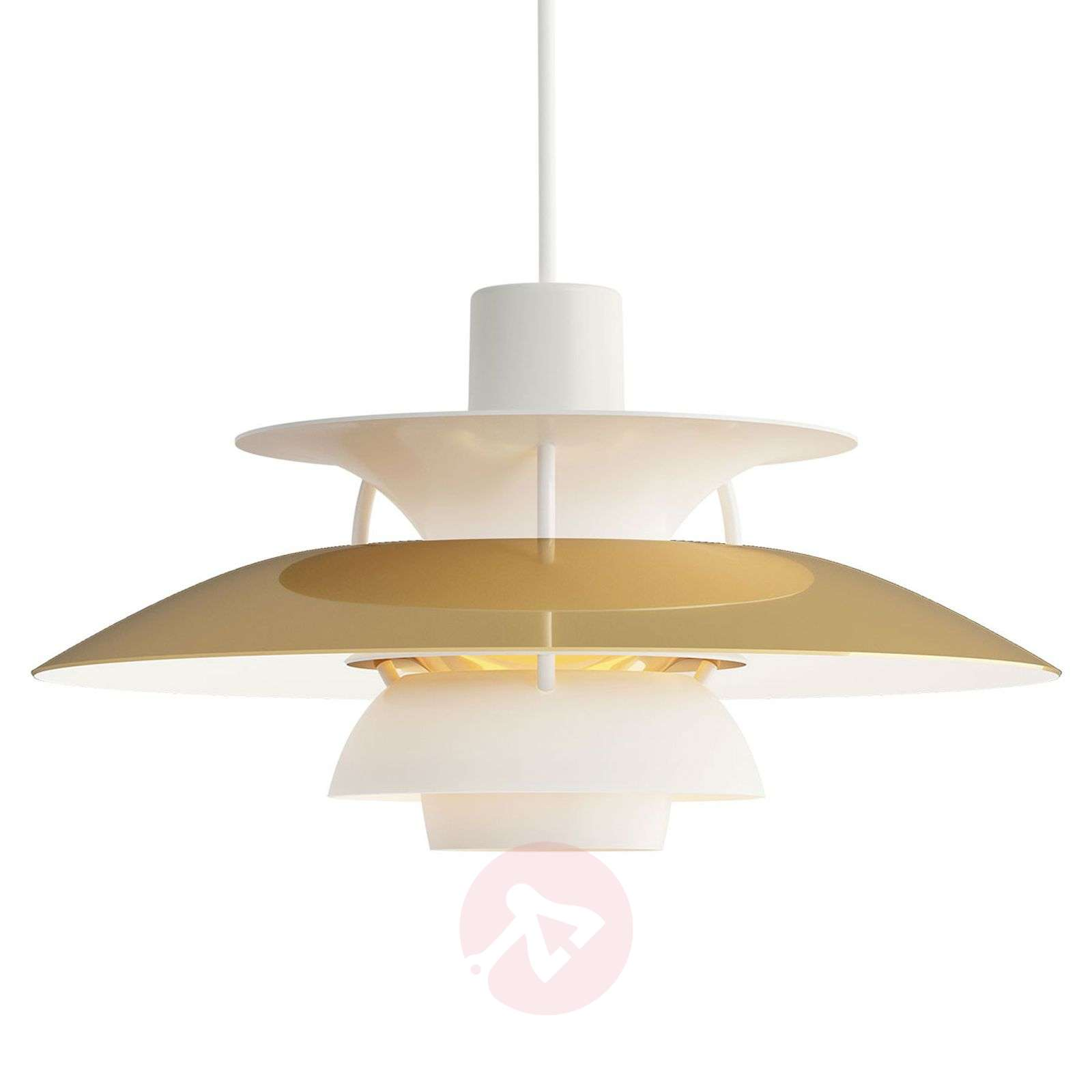Louis Poulsen PH 5 laiton suspension Ø 50 cm-6090200-01