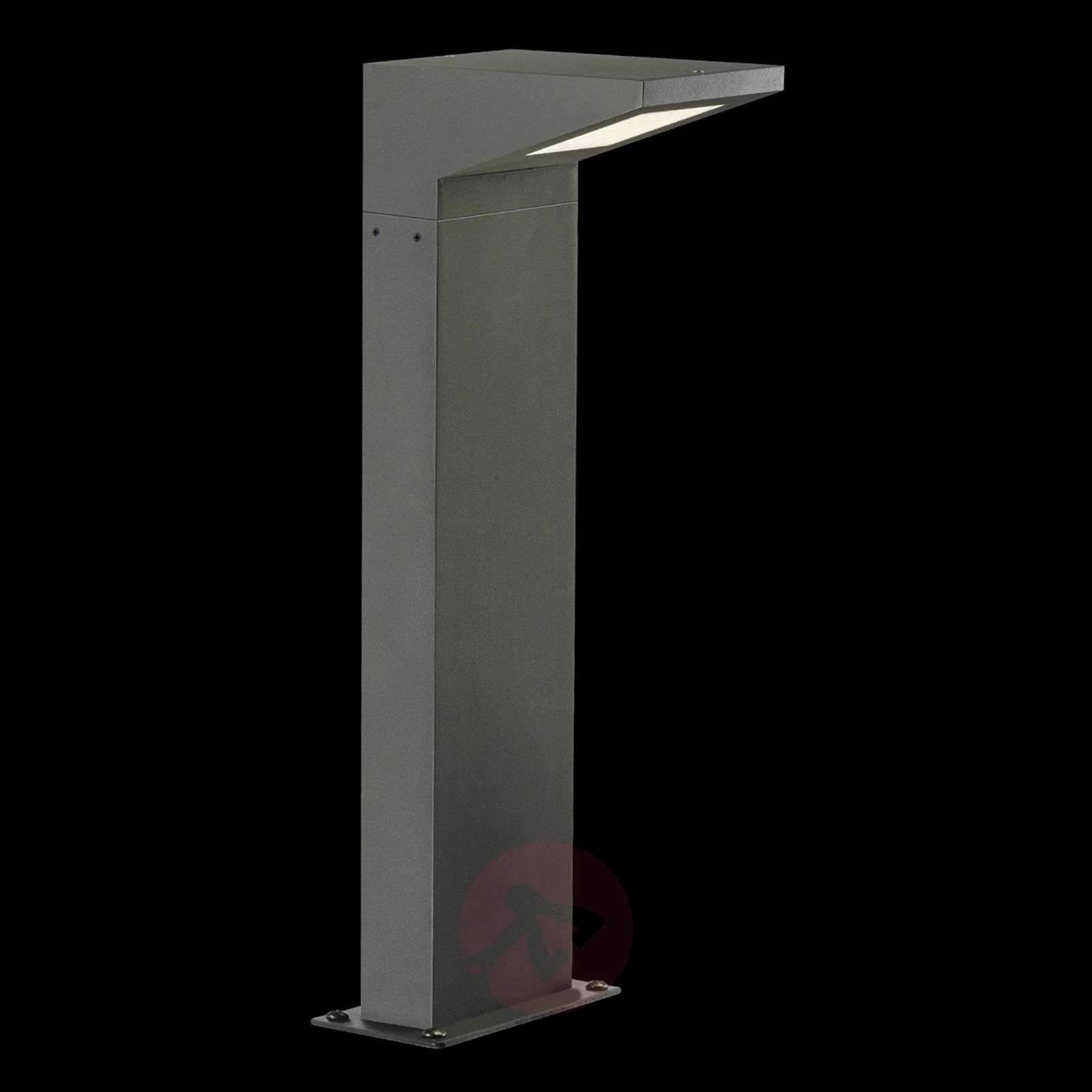 luminaire pour socle moderne led iperi anthracite. Black Bedroom Furniture Sets. Home Design Ideas