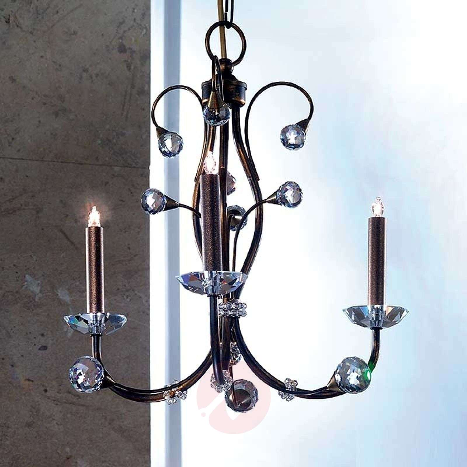 Lustre REMITA aspect antique, 43 cm-7254117-01