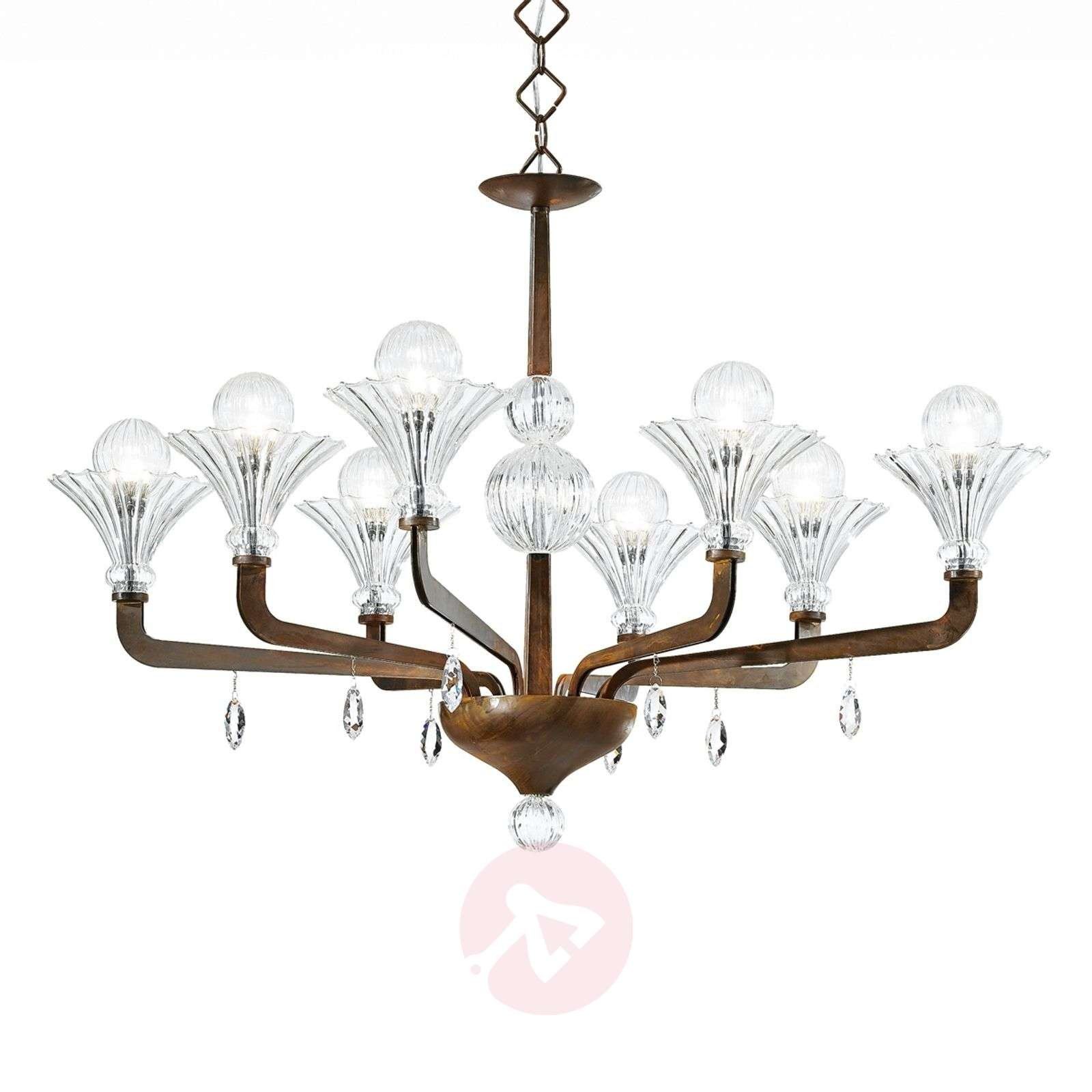 Luminaire 8 lampes