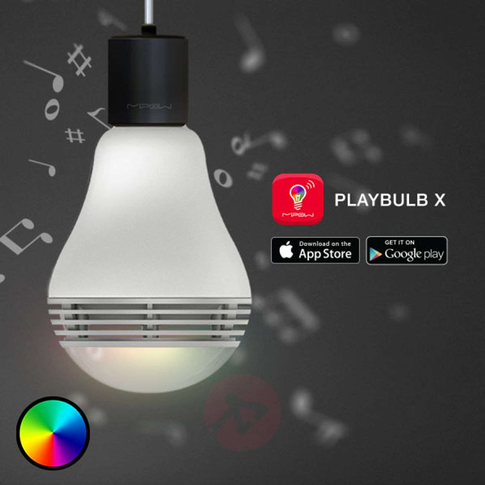MiPow Playbulb Color ampoule LED E27 enceinte-5543004-07