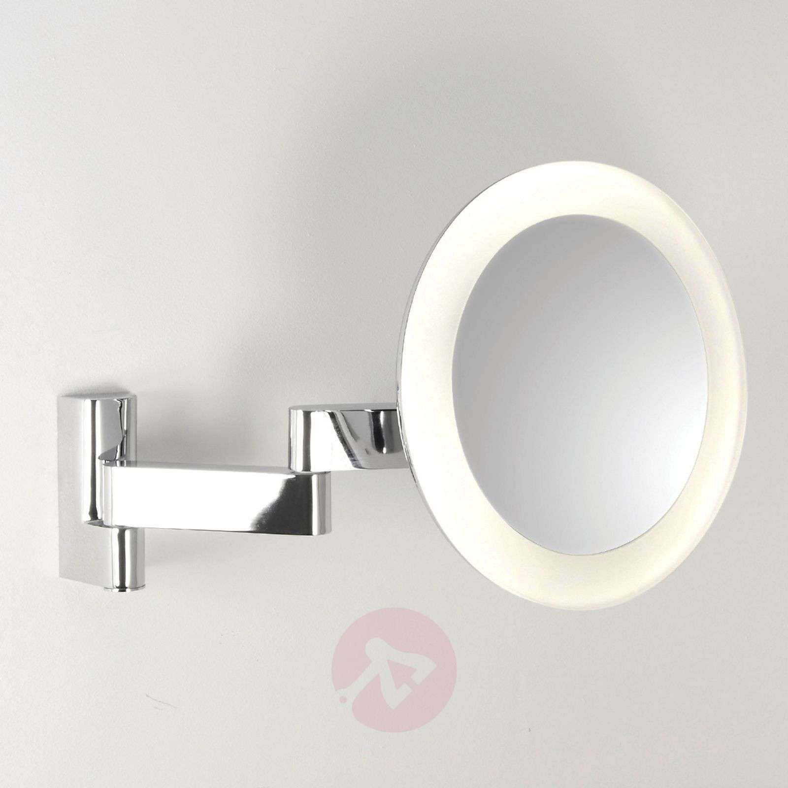 miroir grossissant niimi round avec clairage led. Black Bedroom Furniture Sets. Home Design Ideas
