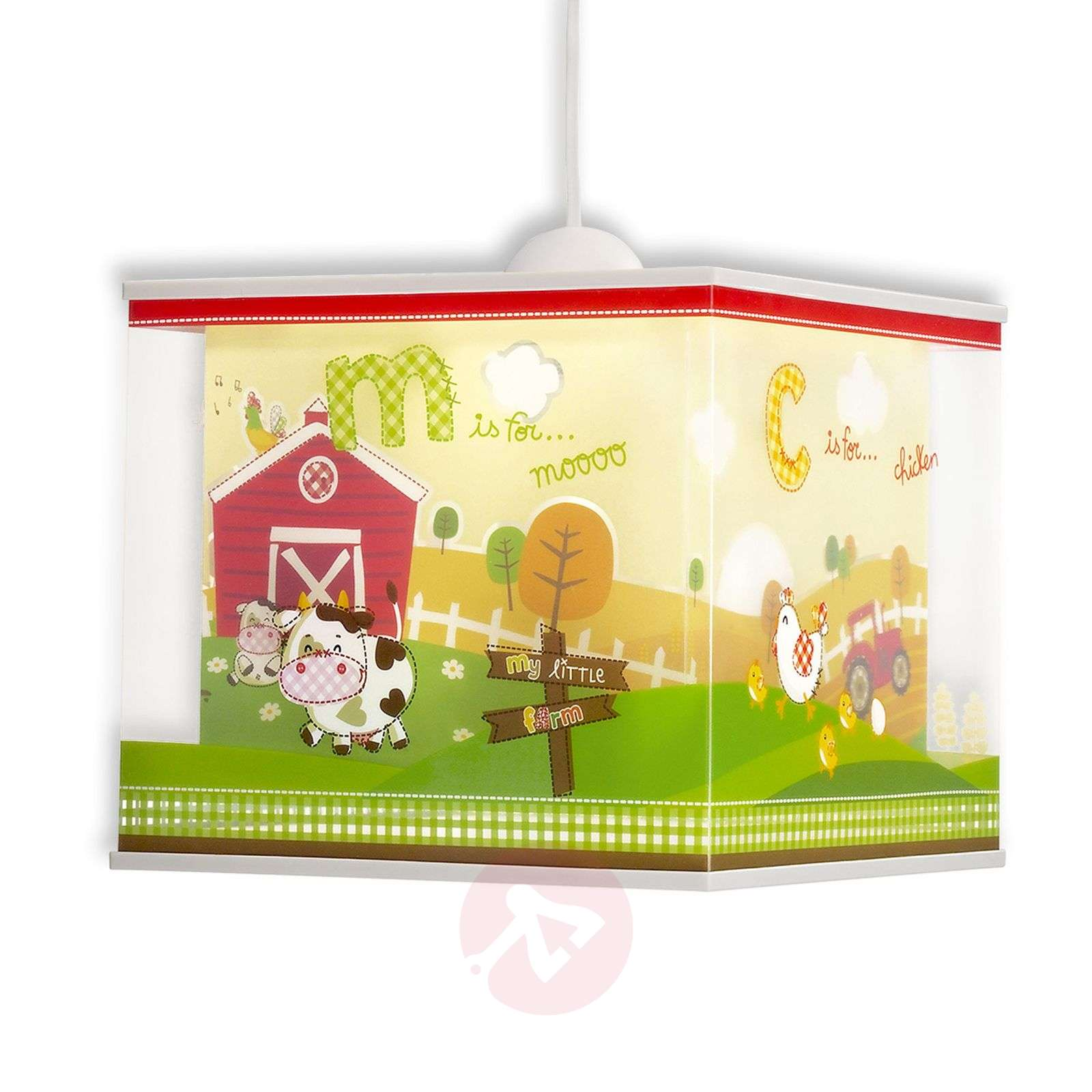 Motifs de la ferme suspension My Little Farm-2507353-01
