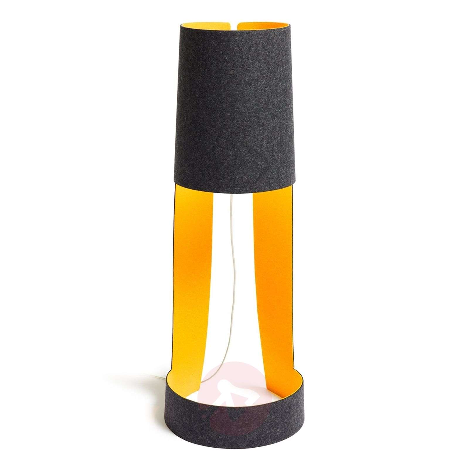Petit lampadaire design Mia XL graphite/orange-2600489-01