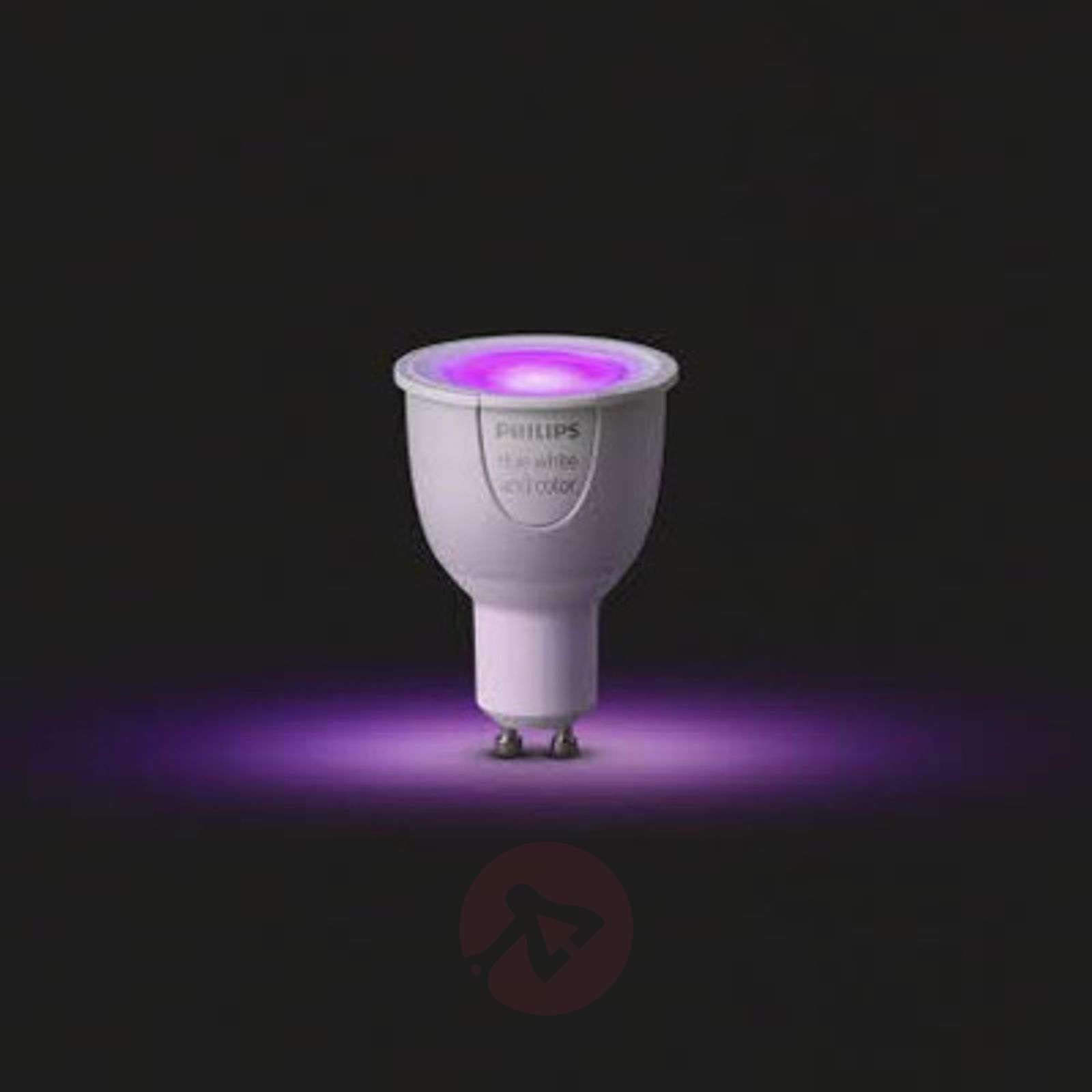 Philips Hue GU10 White + Color Ambiance 6,5W-7531679-03