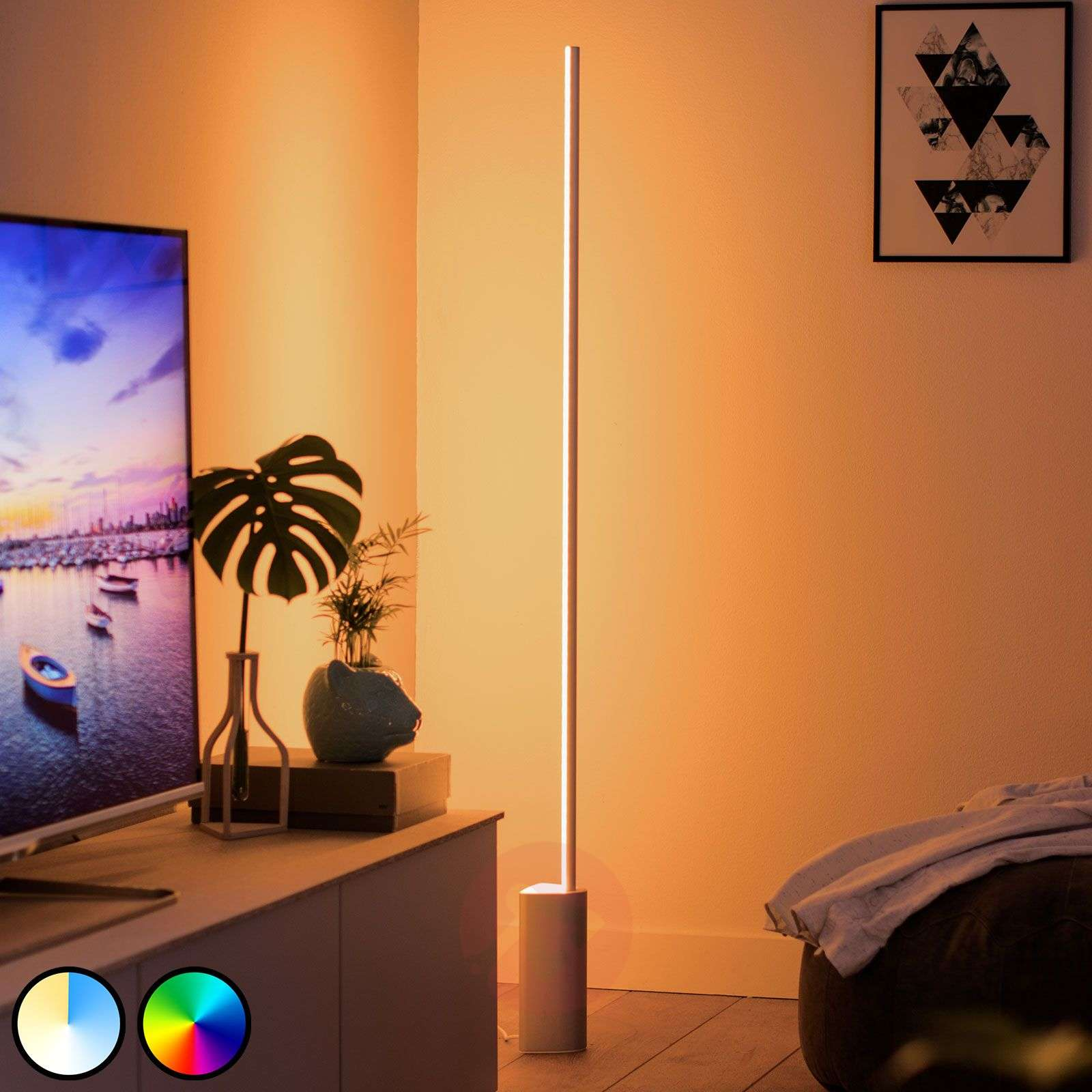 Philips Hue Signe lampadaire LED, RGBW-7534150-01