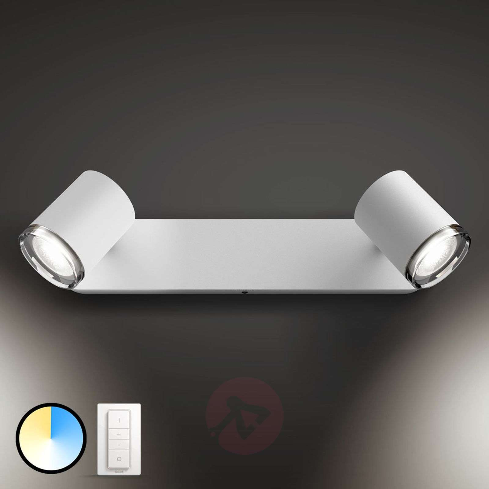 Philips Hue White Ambiance Adore spot à 2 LED-7534072-01
