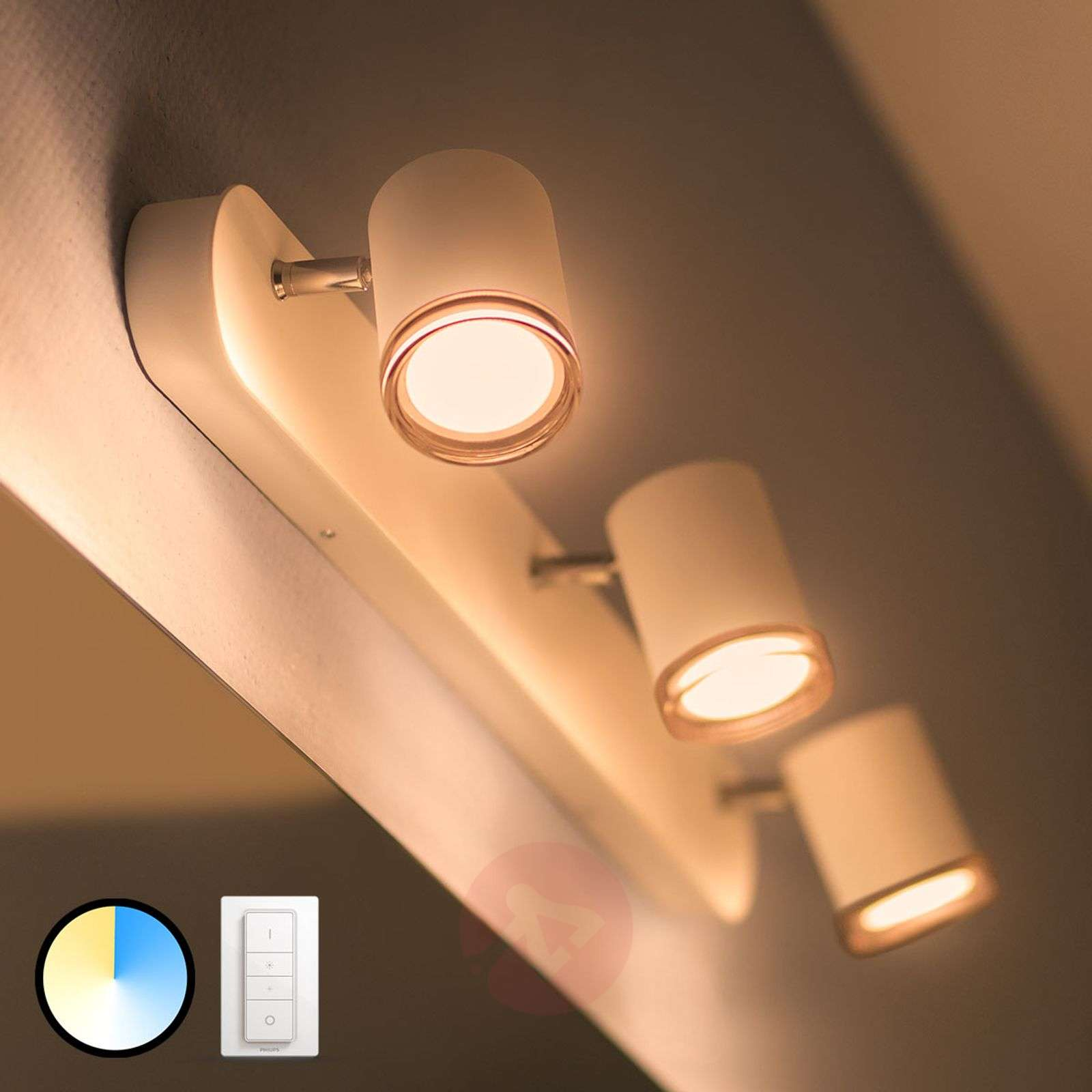 Philips Hue White Ambiance Adore spot à 3 LED-7534073-02