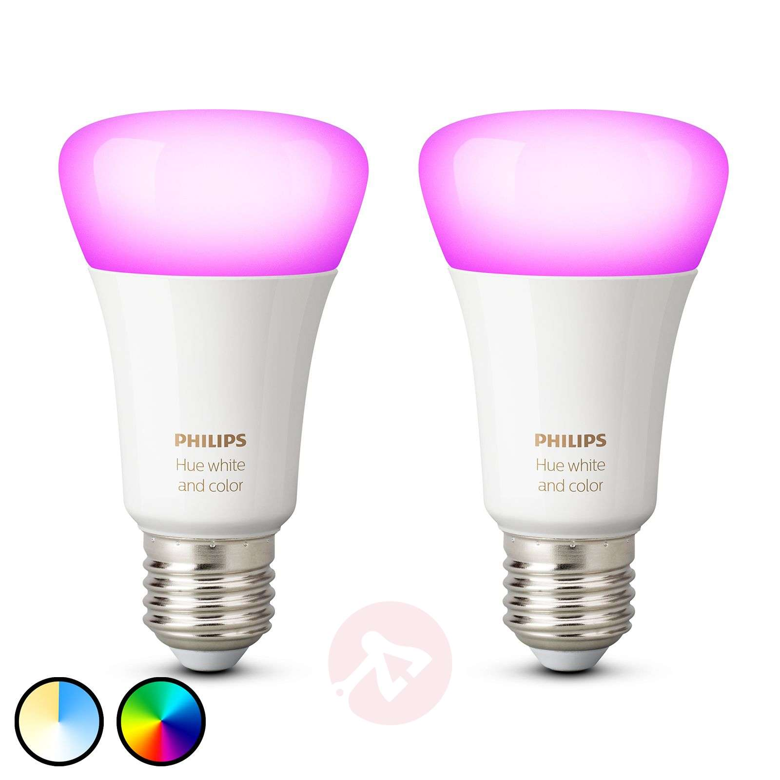 Philips Hue White and Color Ambiance 9 W E27, par 2-7534124-01