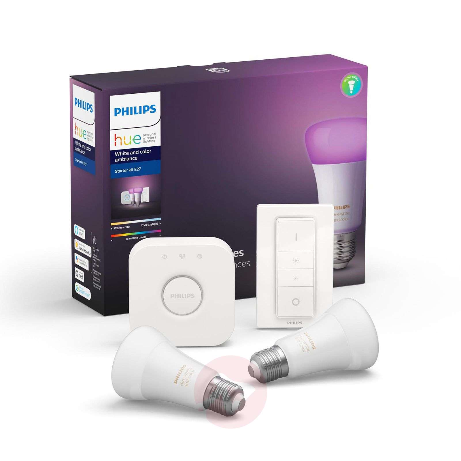Philips Hue White and Color Ambiance E27 démarrage-7534165-01