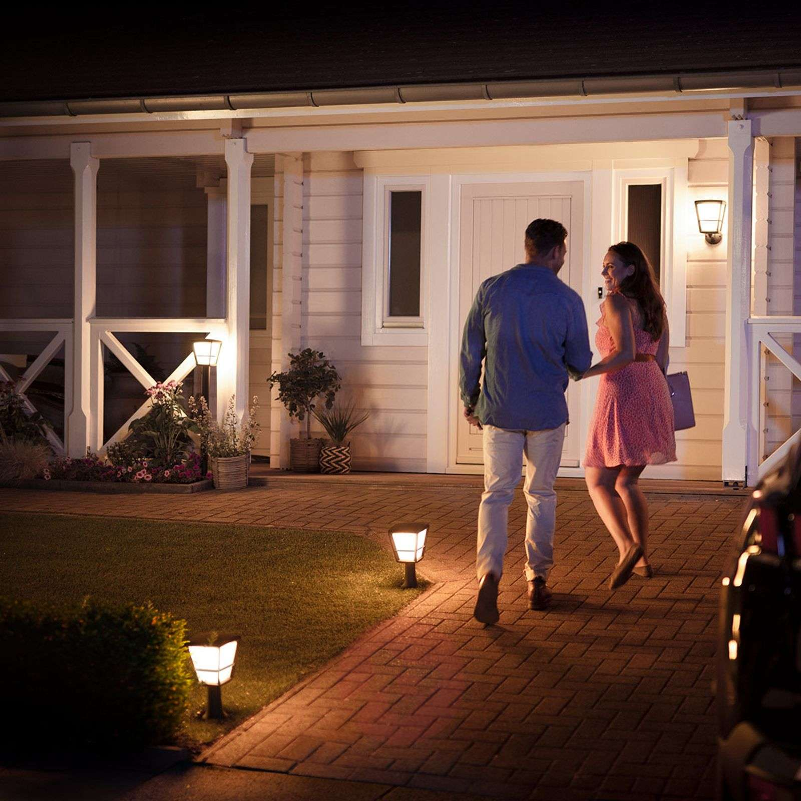Philips Hue White+Color Econic potelet LED-7534119-02