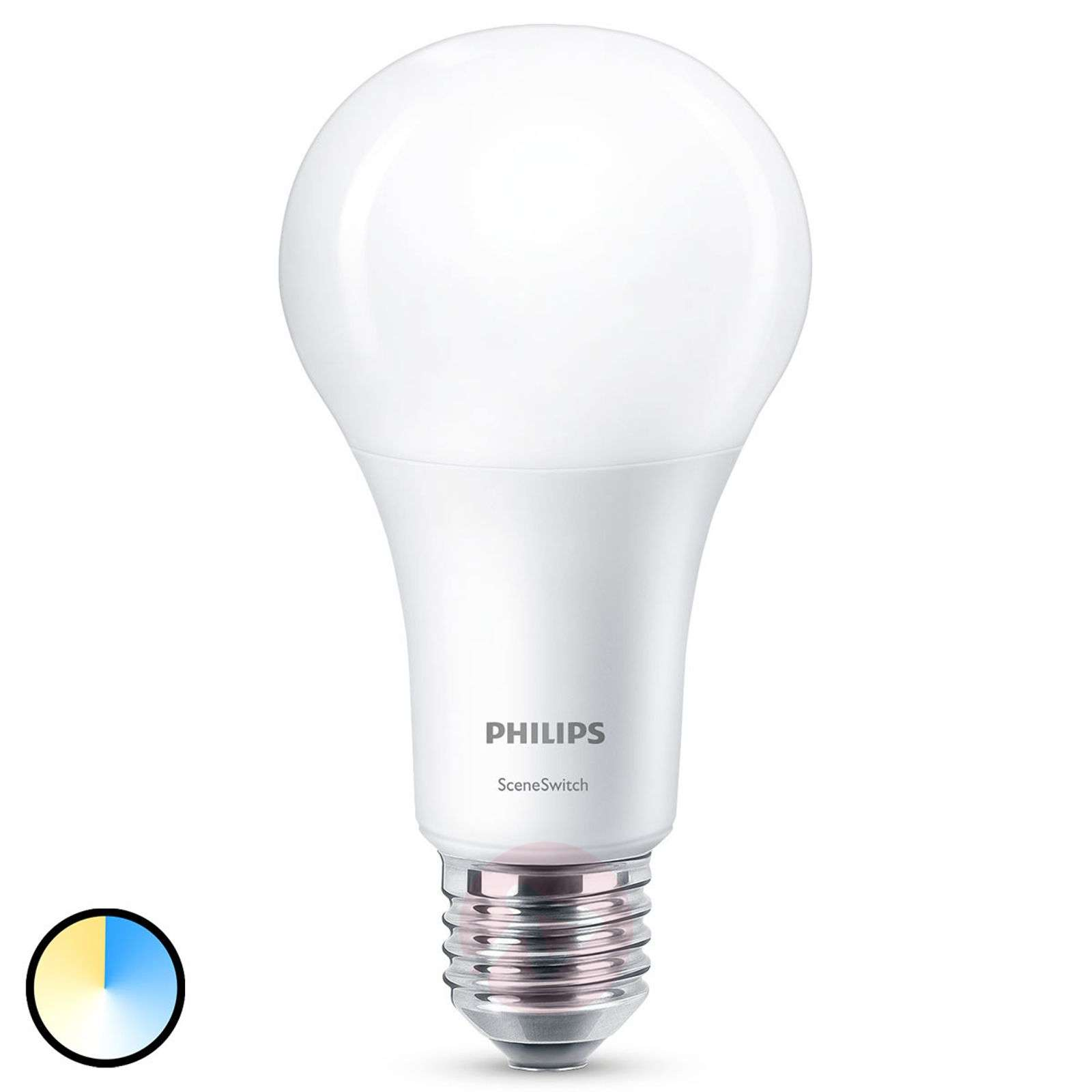 Philips SceneSwitch E27 ampoule LED 14 W mate-7530831-01