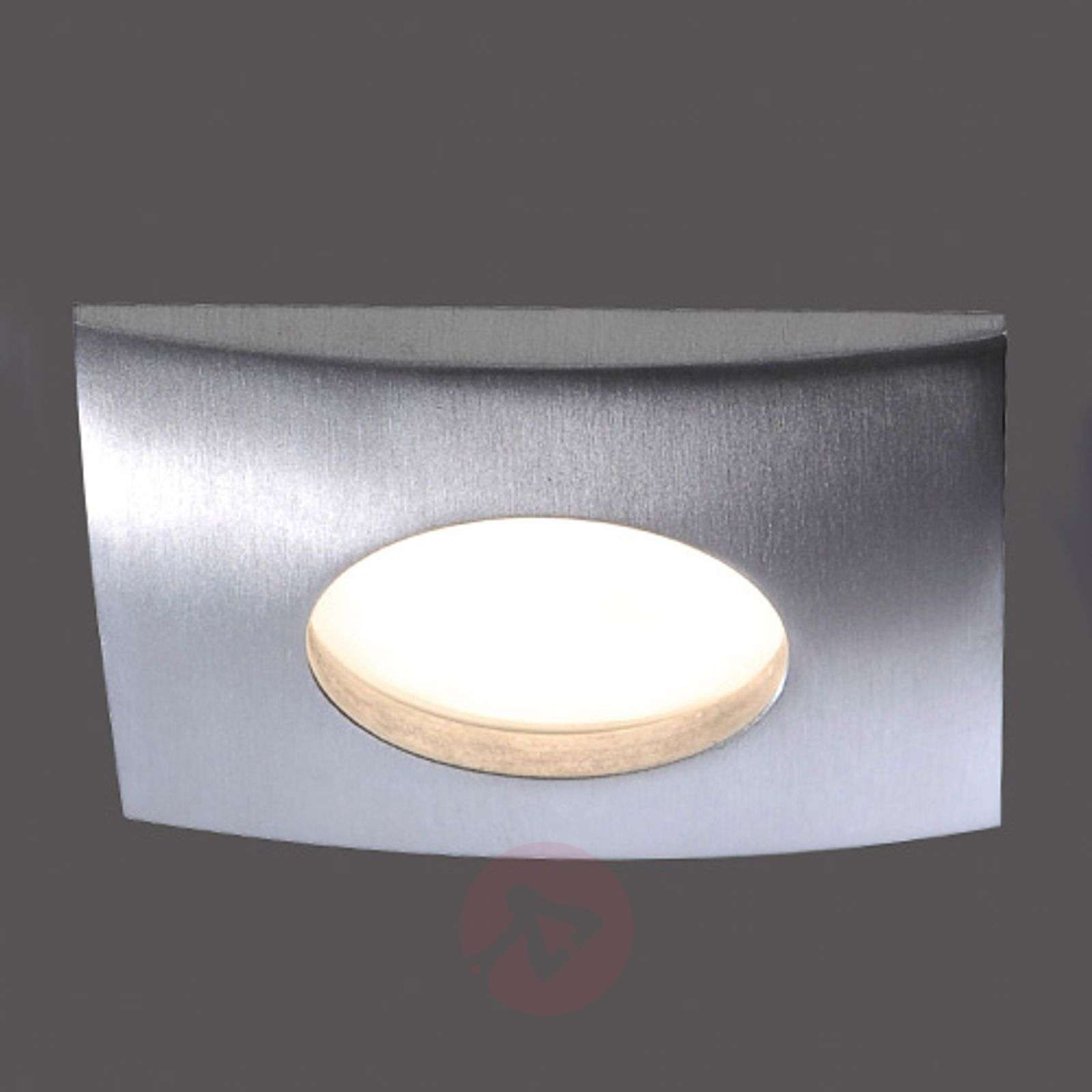 Plafonnier encastr. LED dimmable Lumeco, angulaire-7610404-01