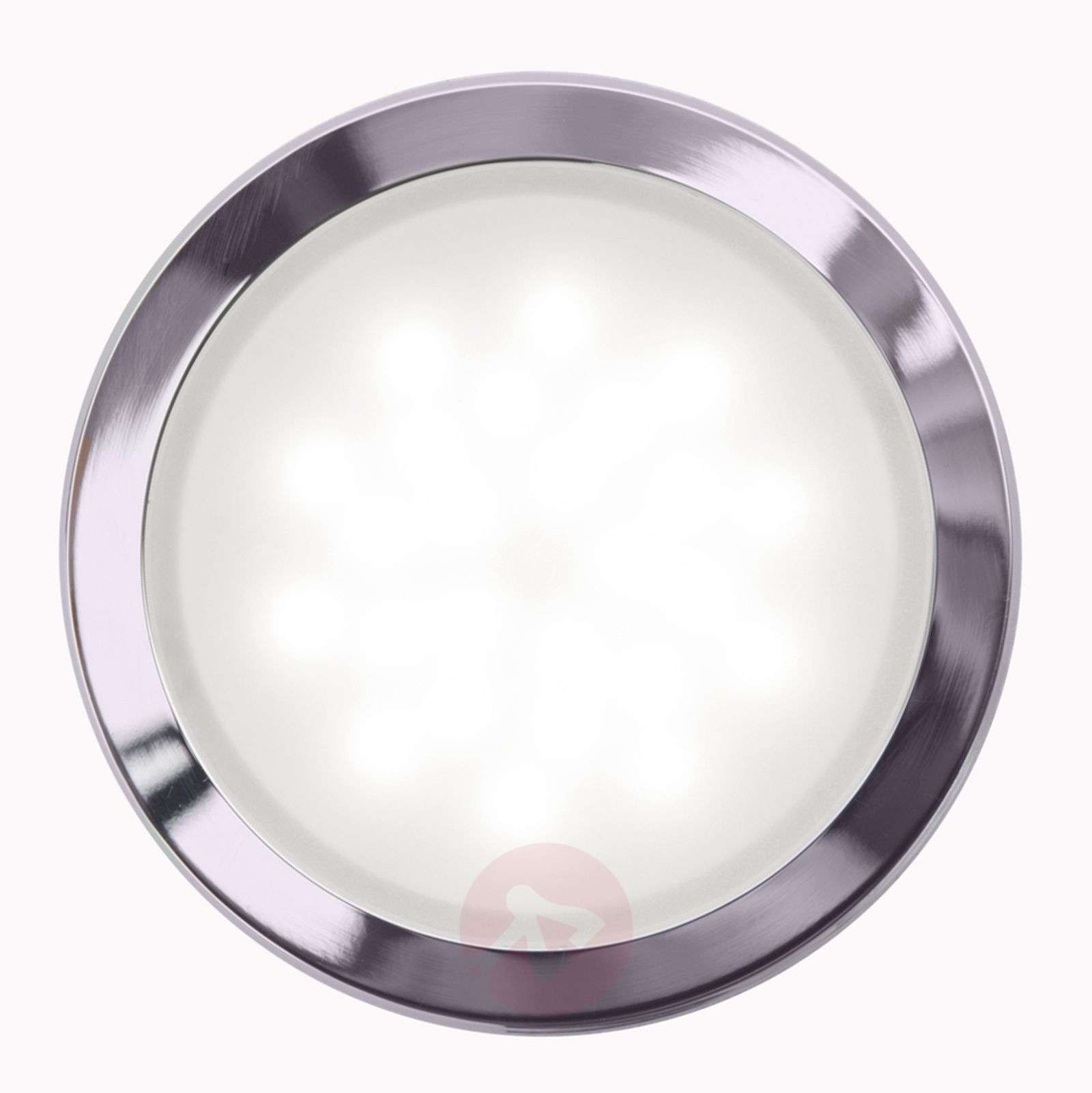 Plafonnier encastrable LED rond Finnian, dimmable-7255033-01