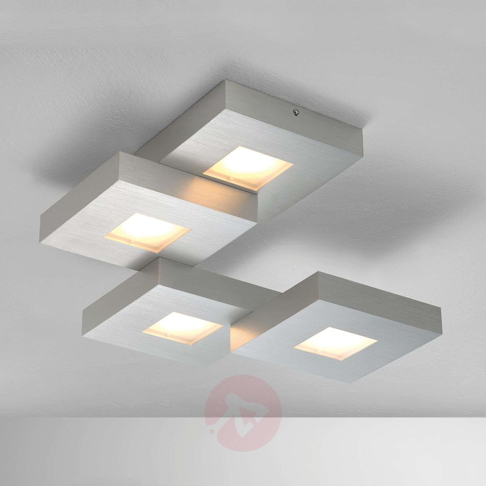 Plafonnier LED Cubus disposé en escaliers-1556045-01