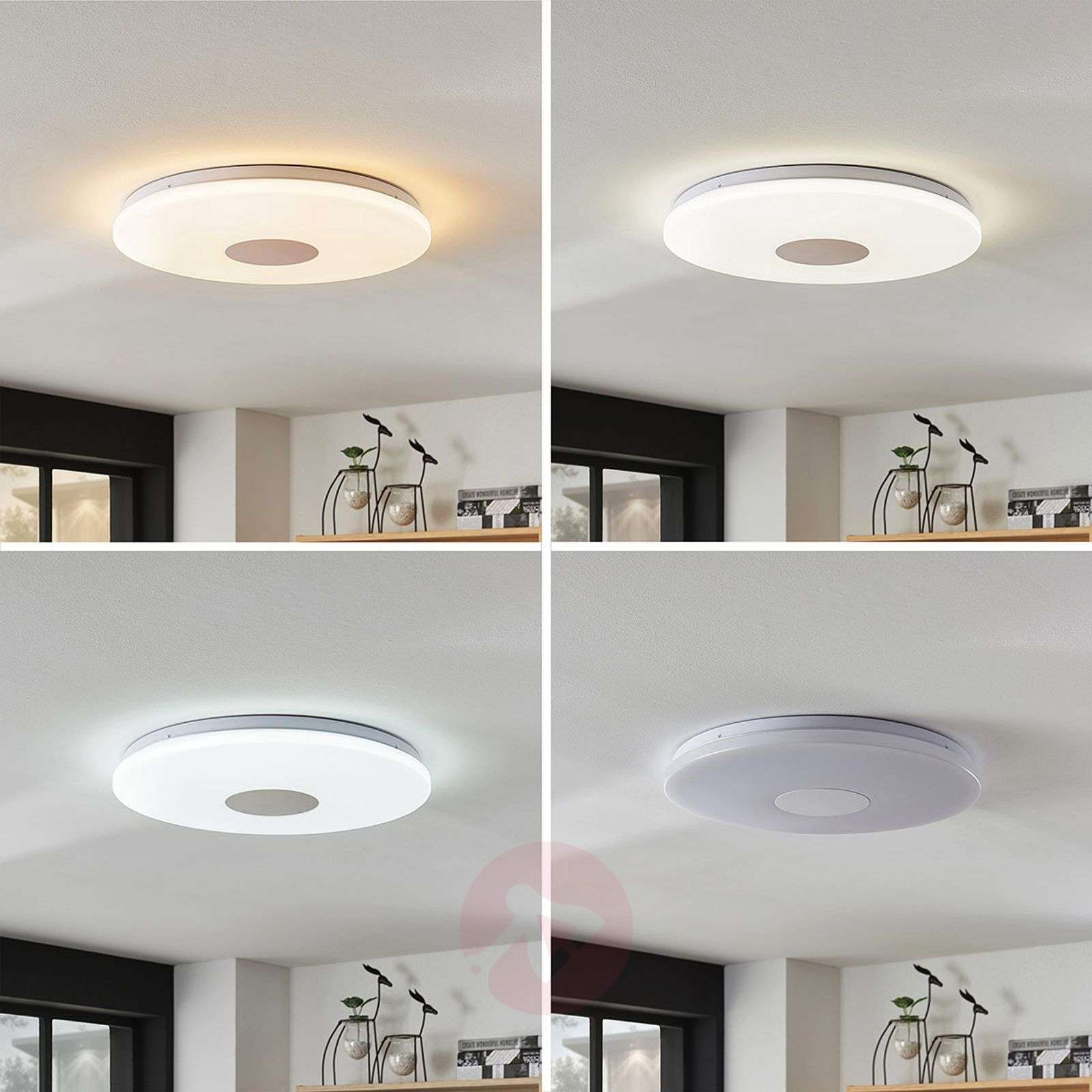 Plafonnier LED fonctionnel Renee, 25 W-9634002-04
