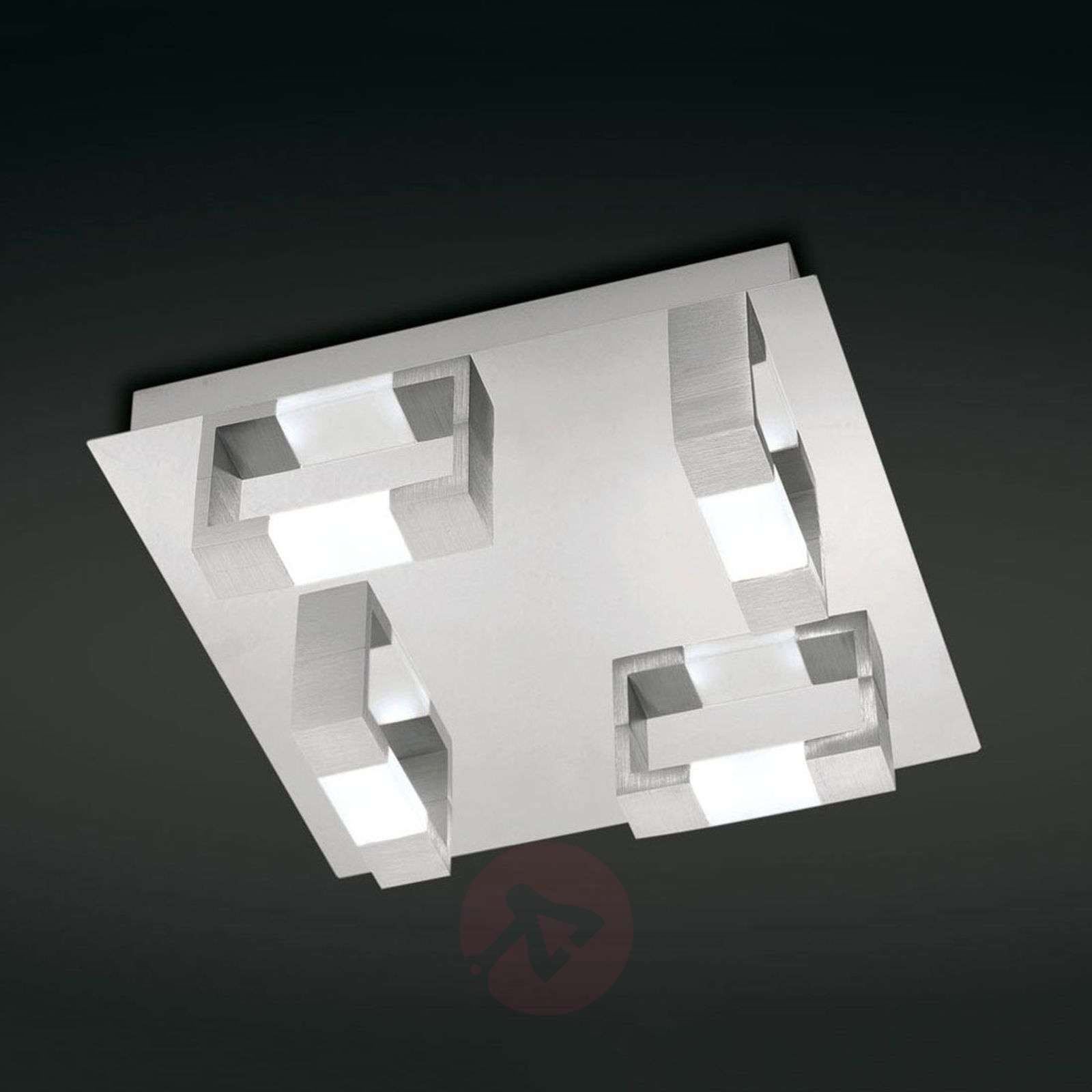Plafonnier LED rectangulaire Kemos-7610357-01
