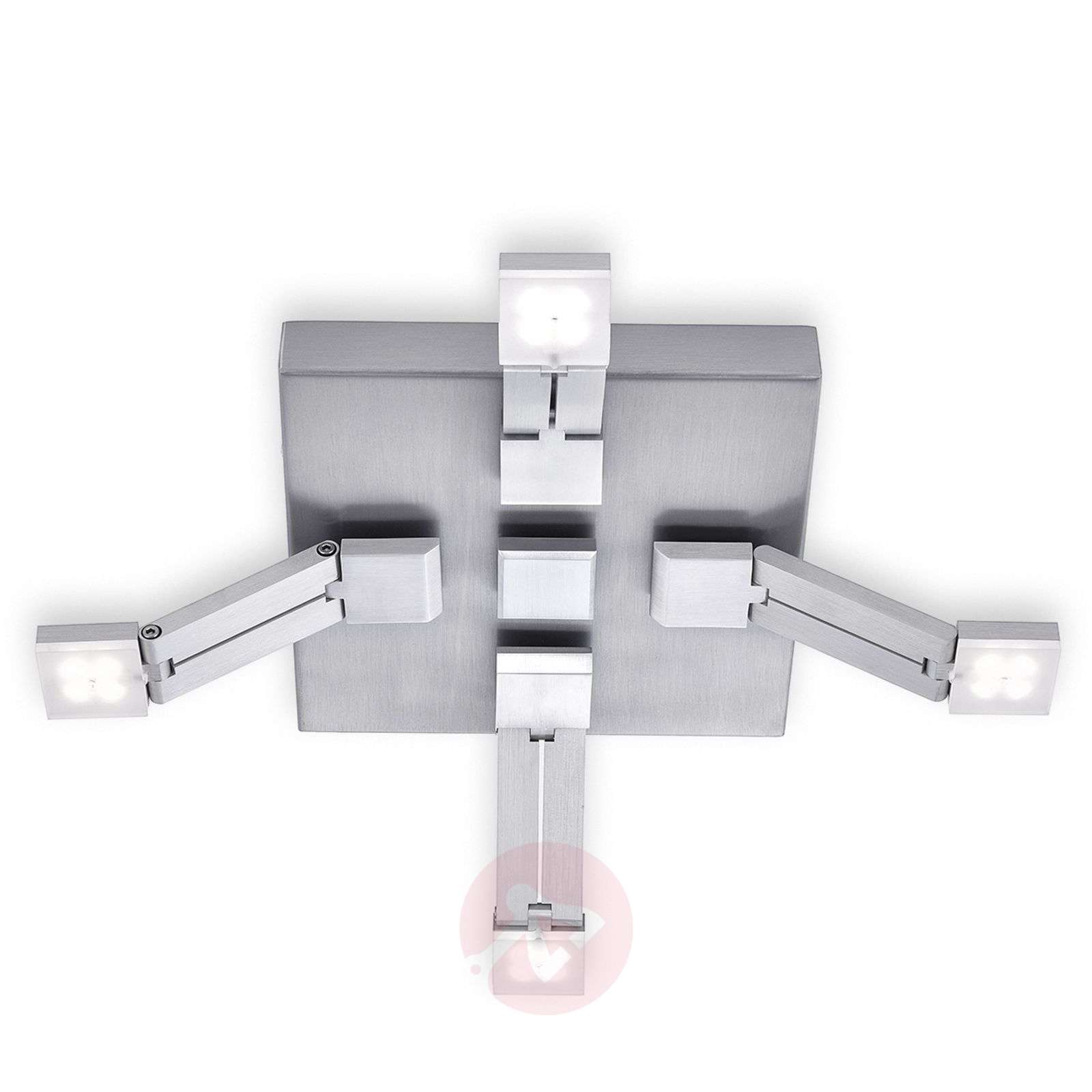 Plafonnier LED Transform variable, 4 lampes-7610523-01