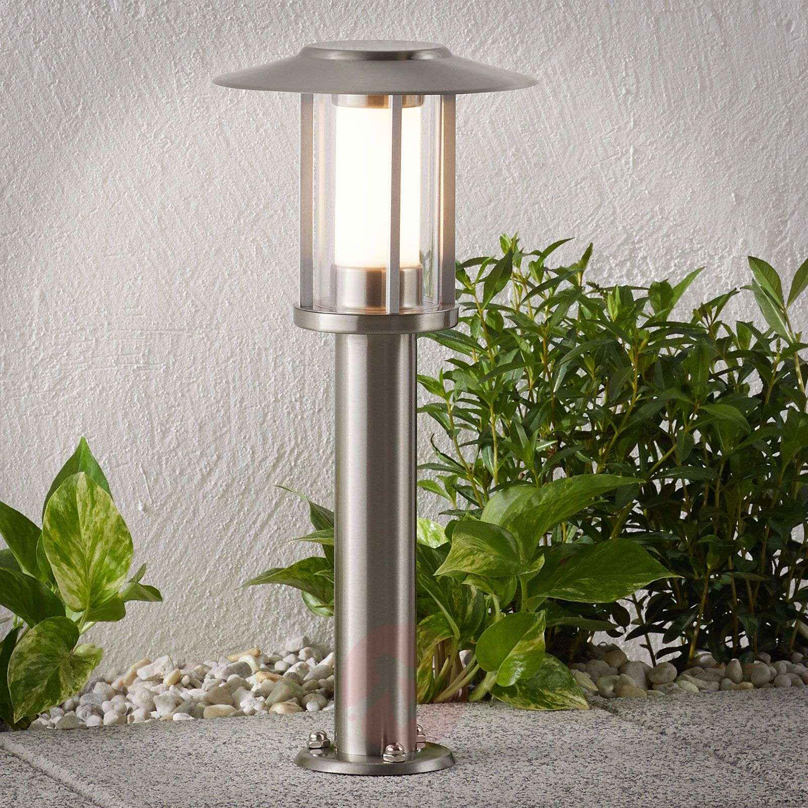 Potelet LED Gregory inox-9945316-01
