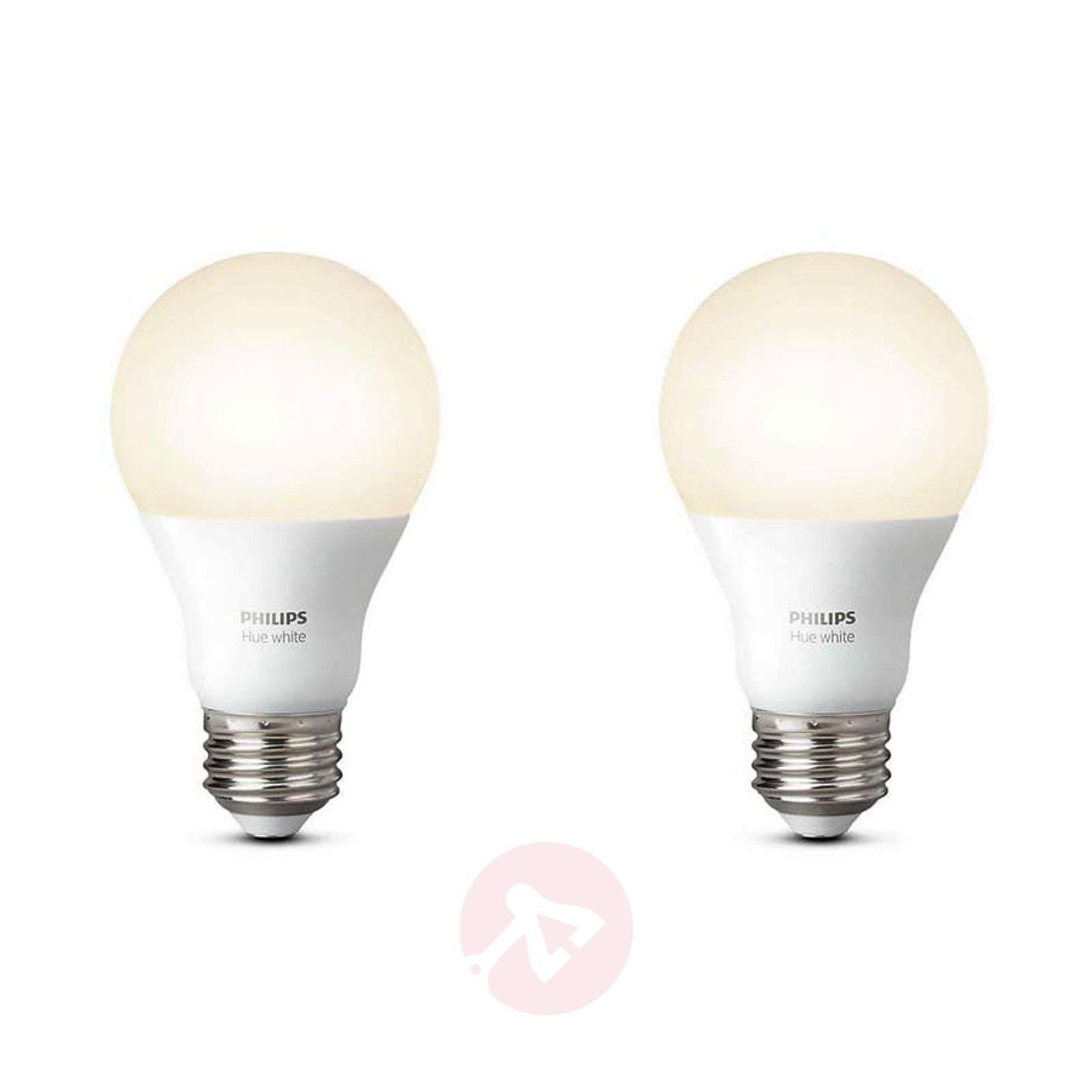 Set de 2 Philips Hue White E27 de 9,5 W-7532037-01