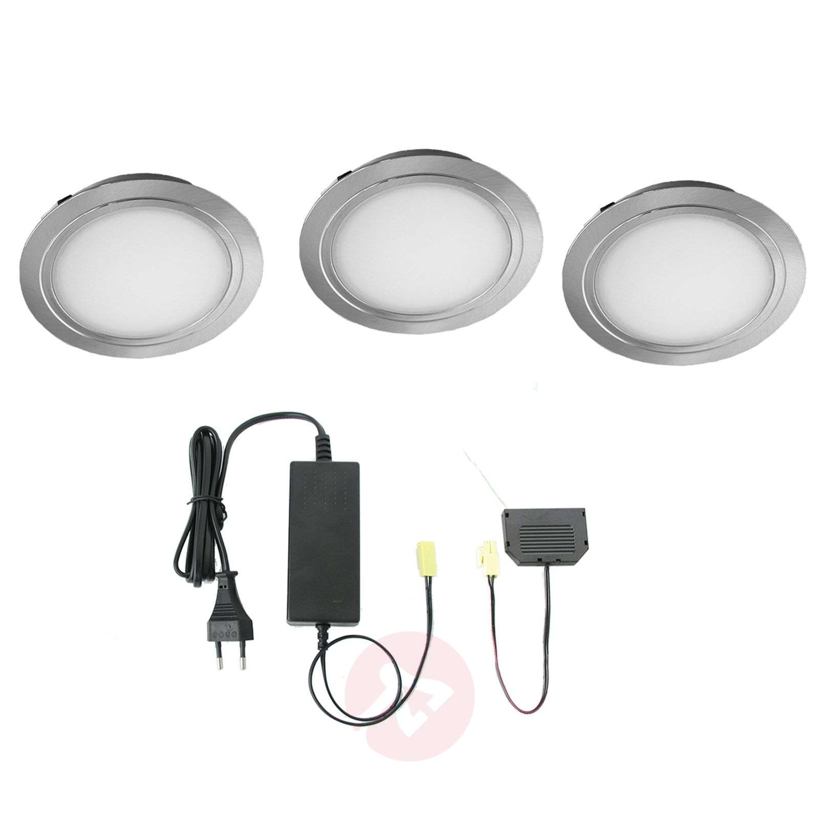 Set de 3 spots encastrables LED Cubic 68 CF-3025273-01