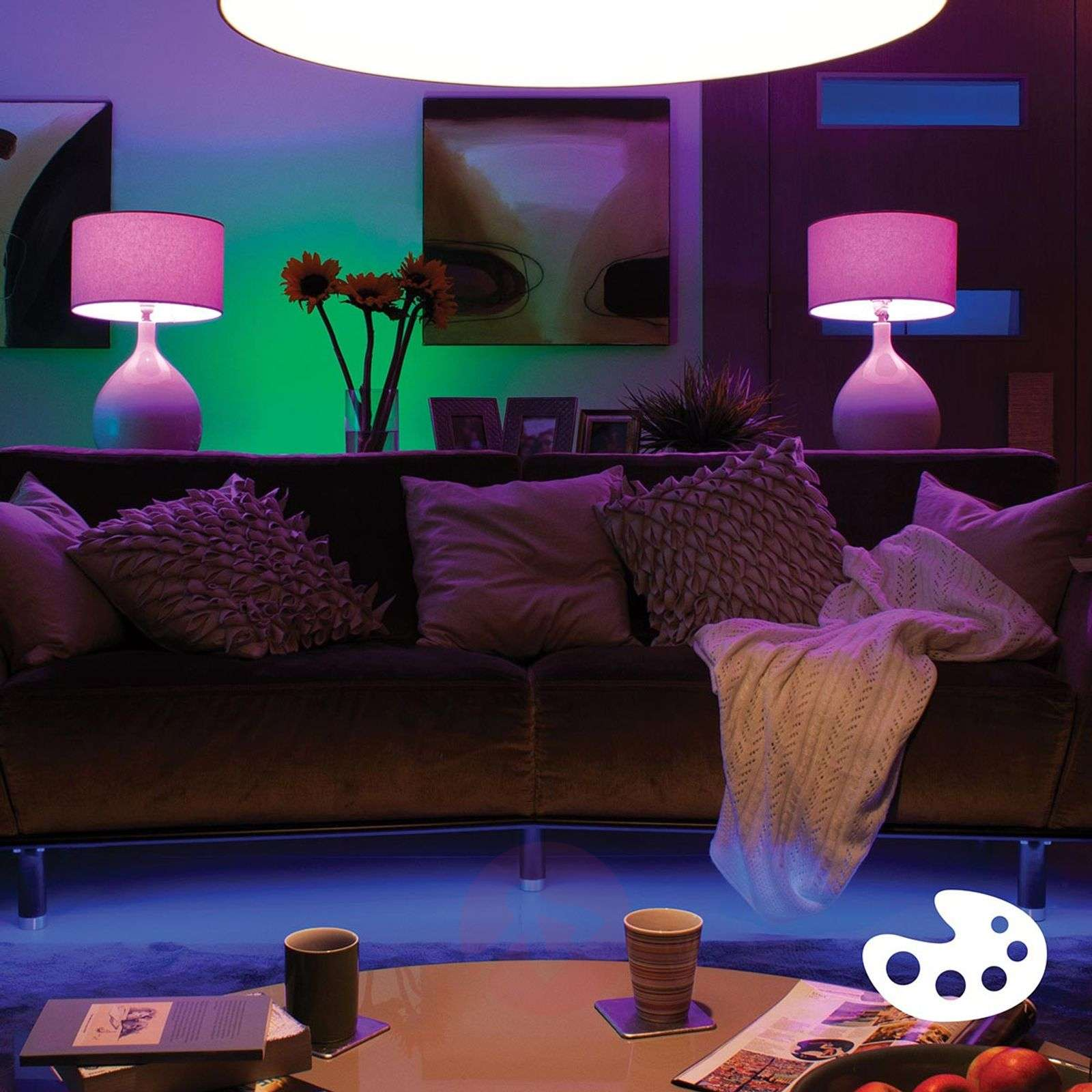 Set de base de 3 Philips Hue E27 de 10 W + pont-7532028-01