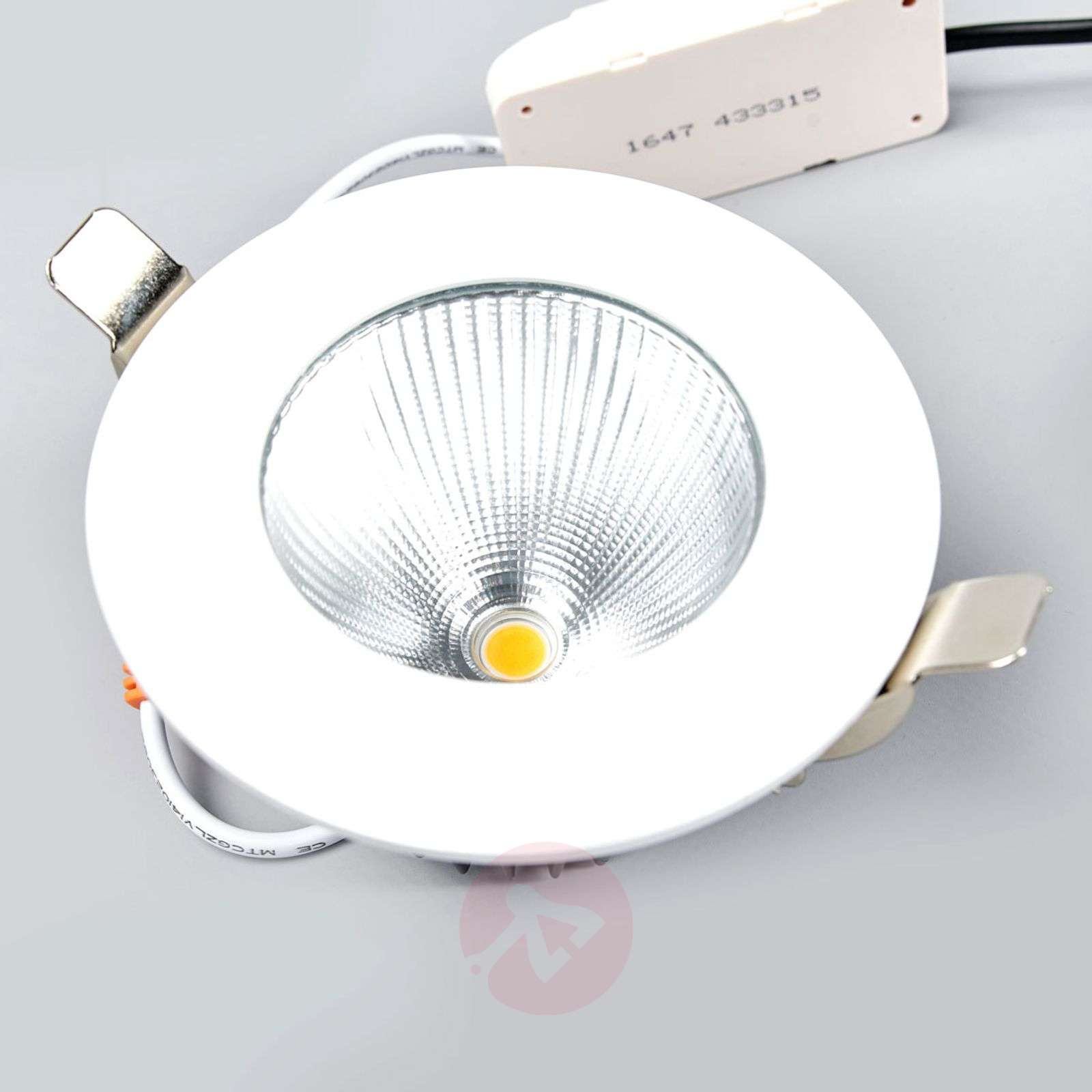 Spot encastrable LED Kamilla, blanc, IP65, 11 W-9966021-04