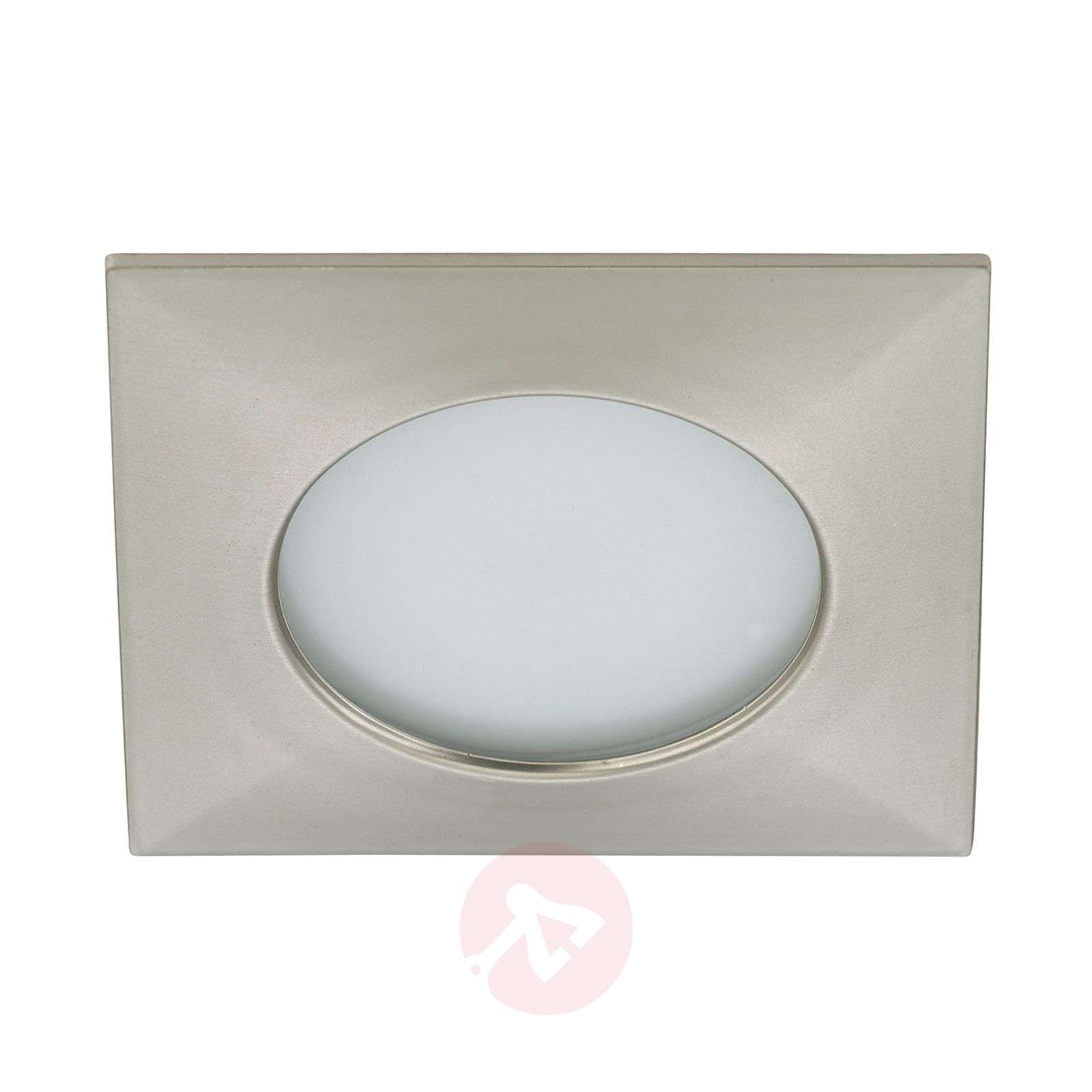 Spot encastré LED blanc chaud Paul en nickel mat-1510278-01