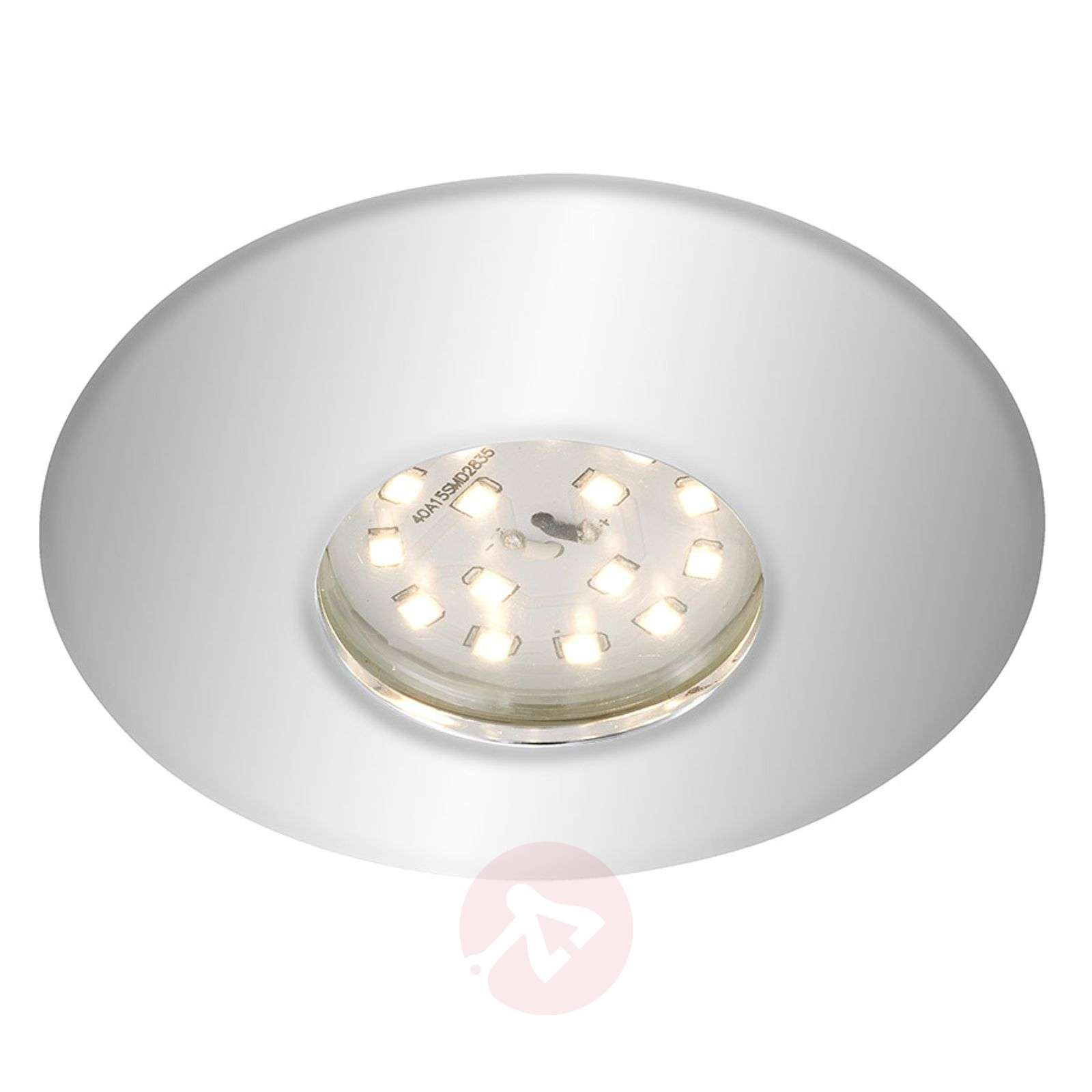 Spot encastré LED chromé Shower, IP65-1510317-01