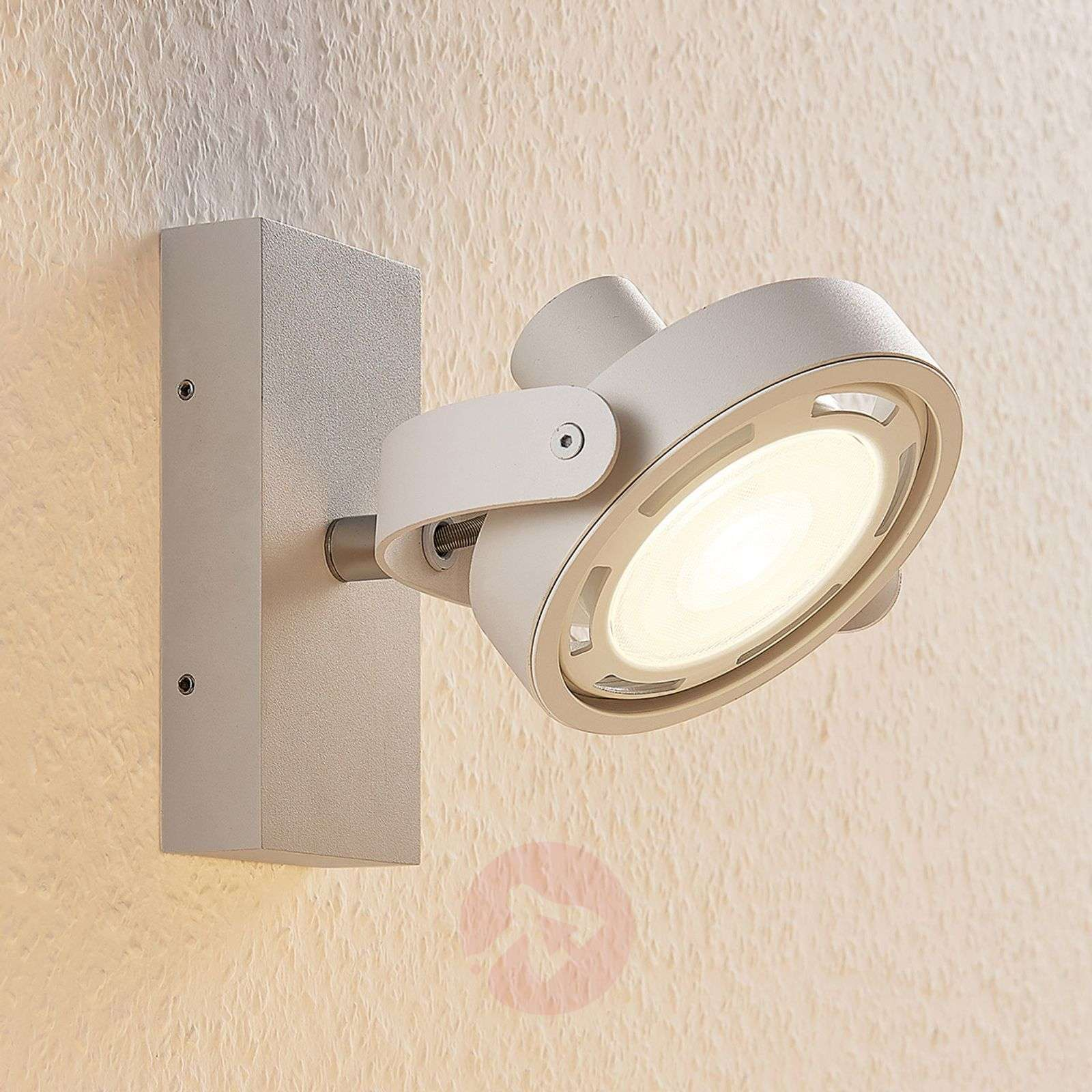Spot LED Munin, dimmable, blanc, 1 lampe-9621877-02
