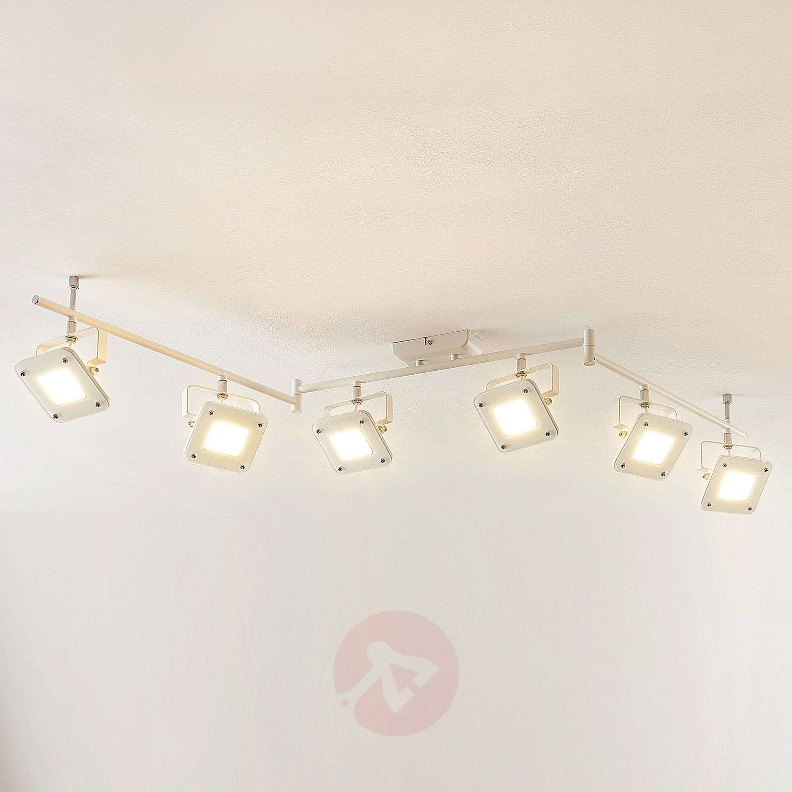 Spot pour plafond LED Juliana, dimmable, 6 lampes-9950720-05