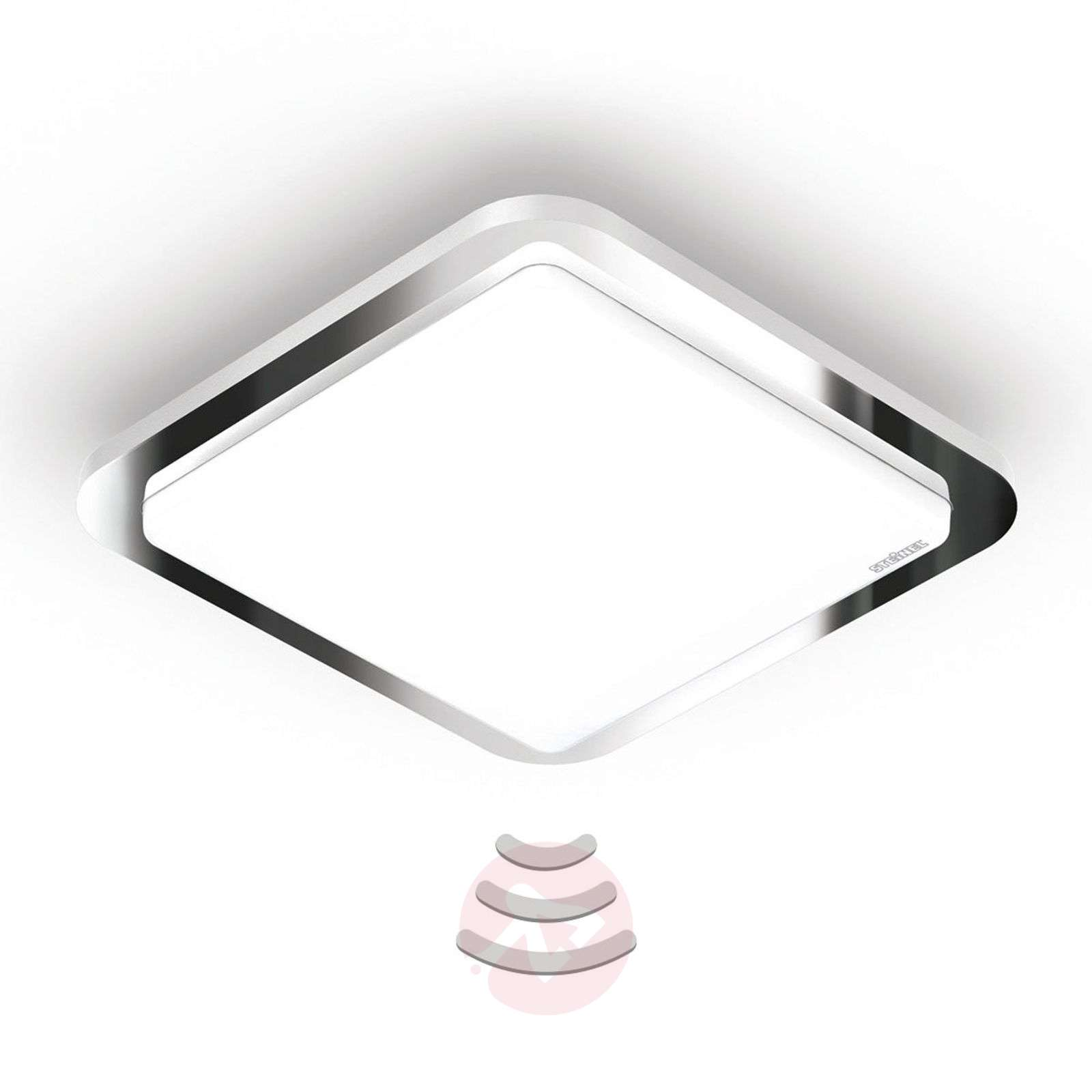 STEINEL RS D1 V3 plafonnier LED chromé brillant