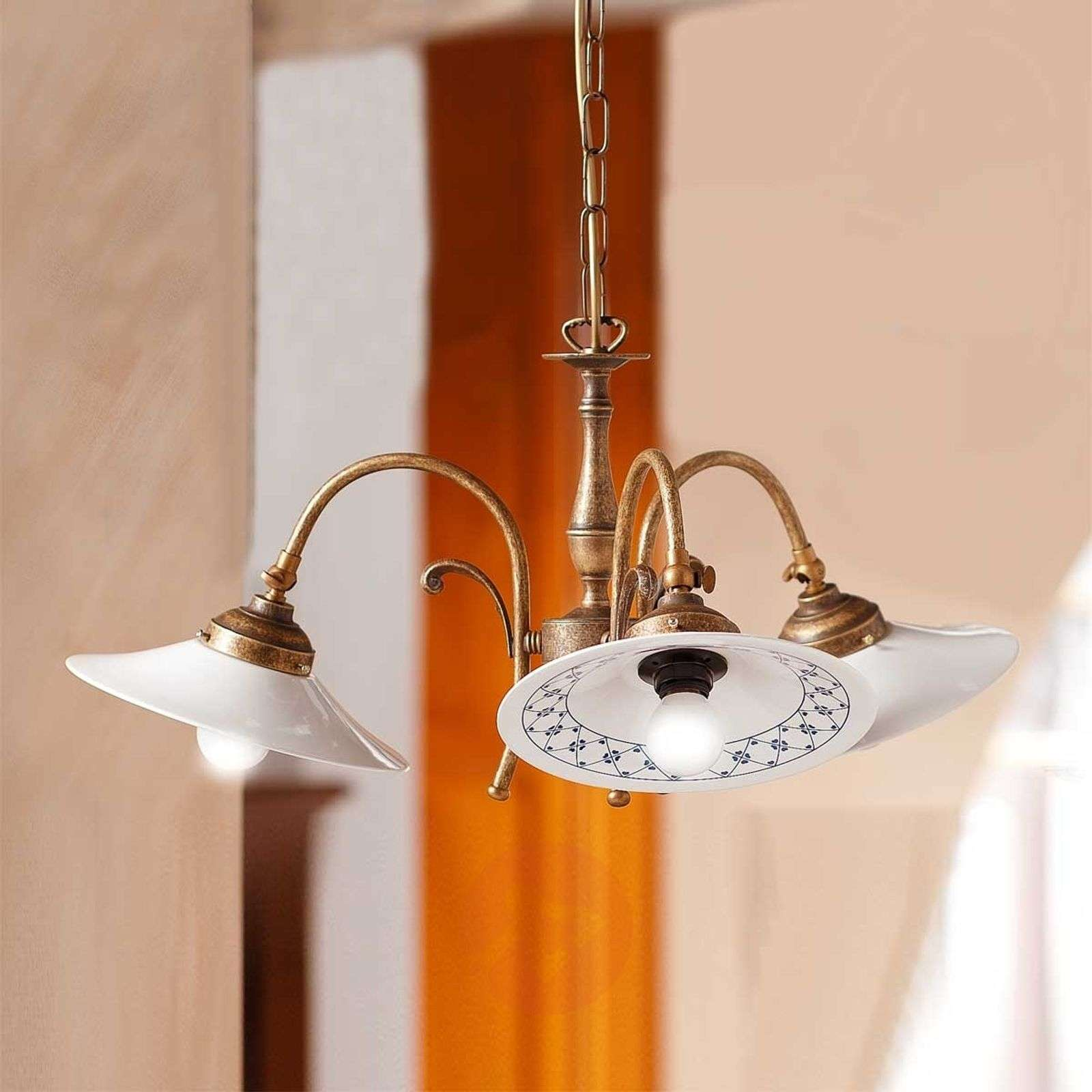 Suspension à 3 lampes ORLO campagnarde-2013051-01