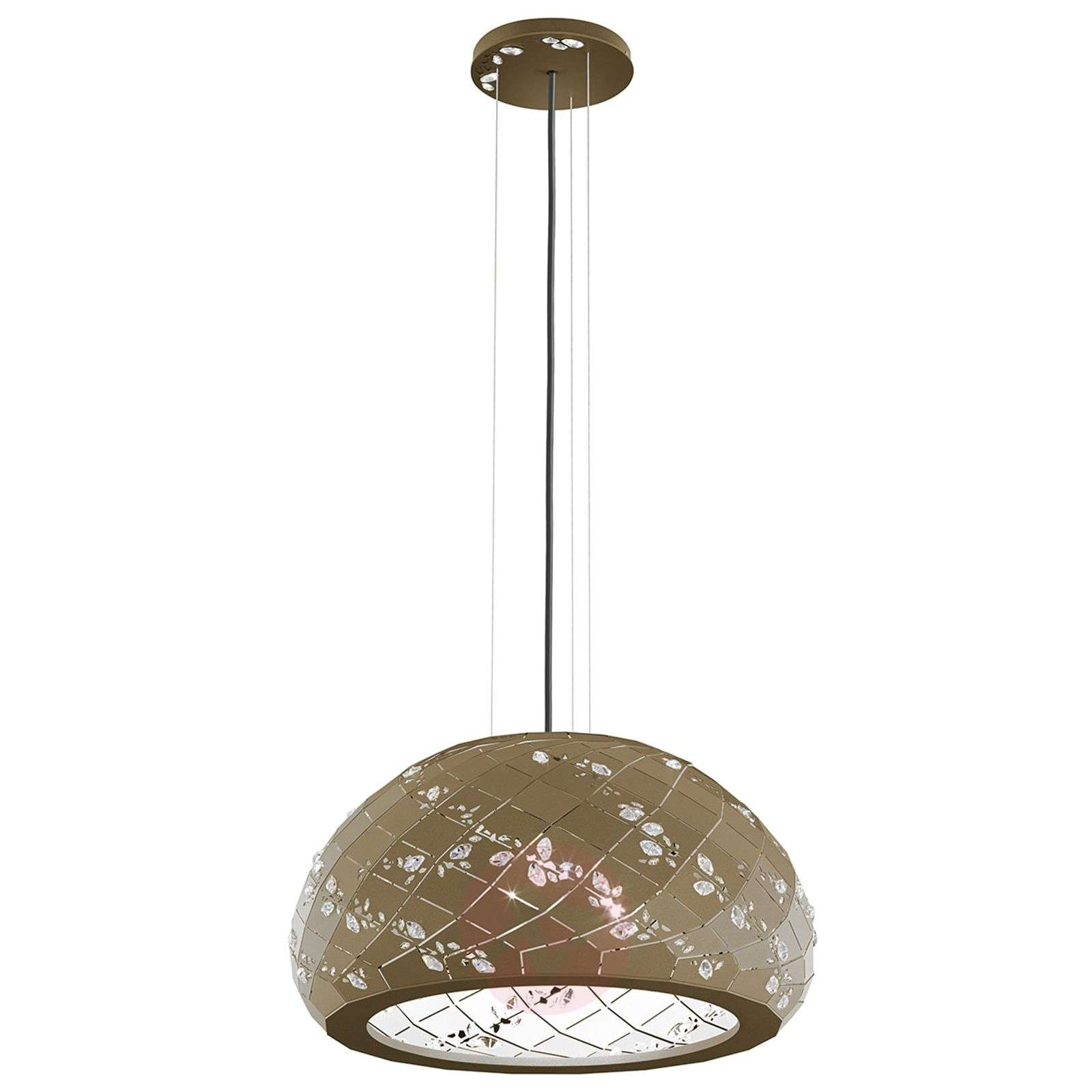 Suspension chatoyante Apta bronze doré, 53 cm-8578017-01