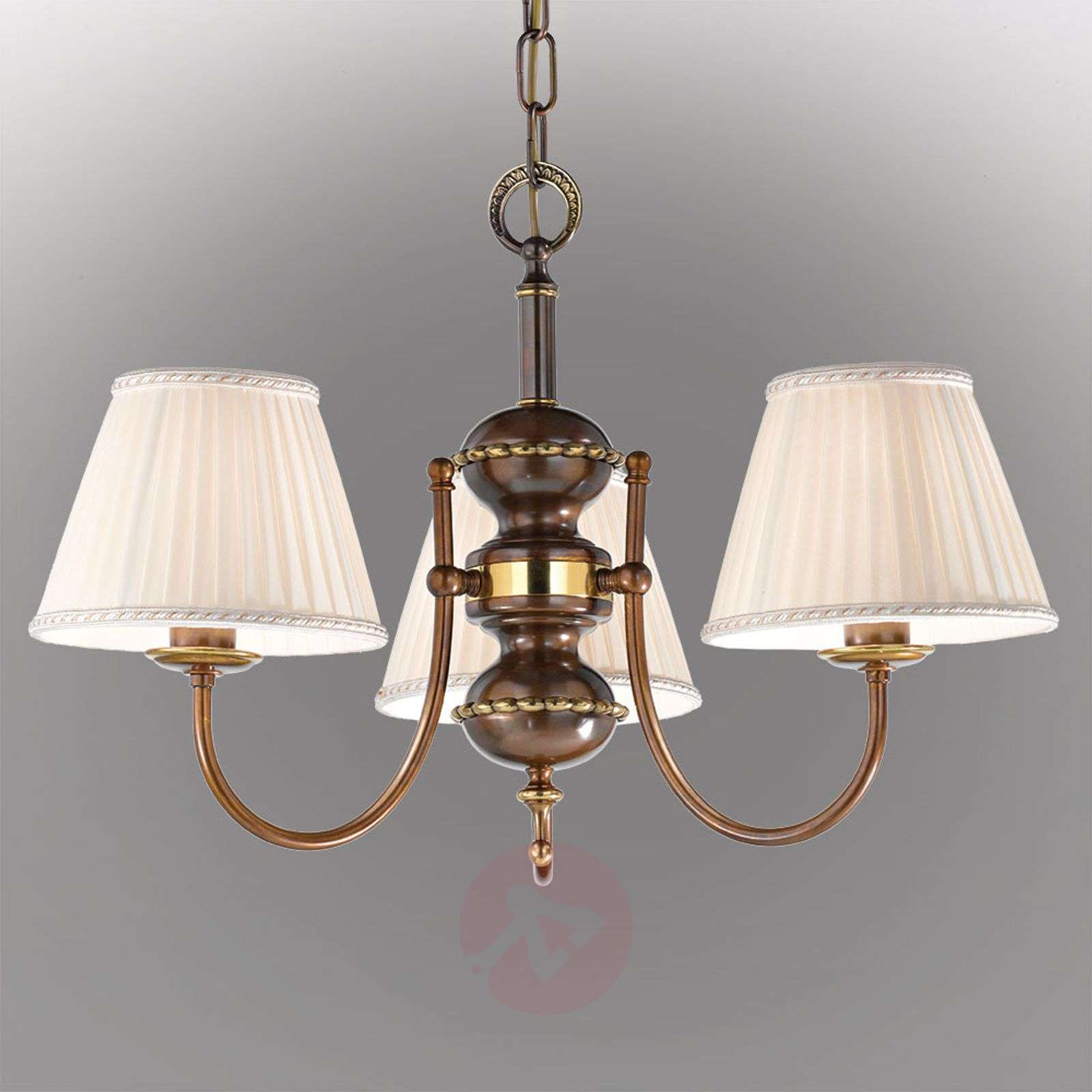 suspension classic antique 3 lampes. Black Bedroom Furniture Sets. Home Design Ideas