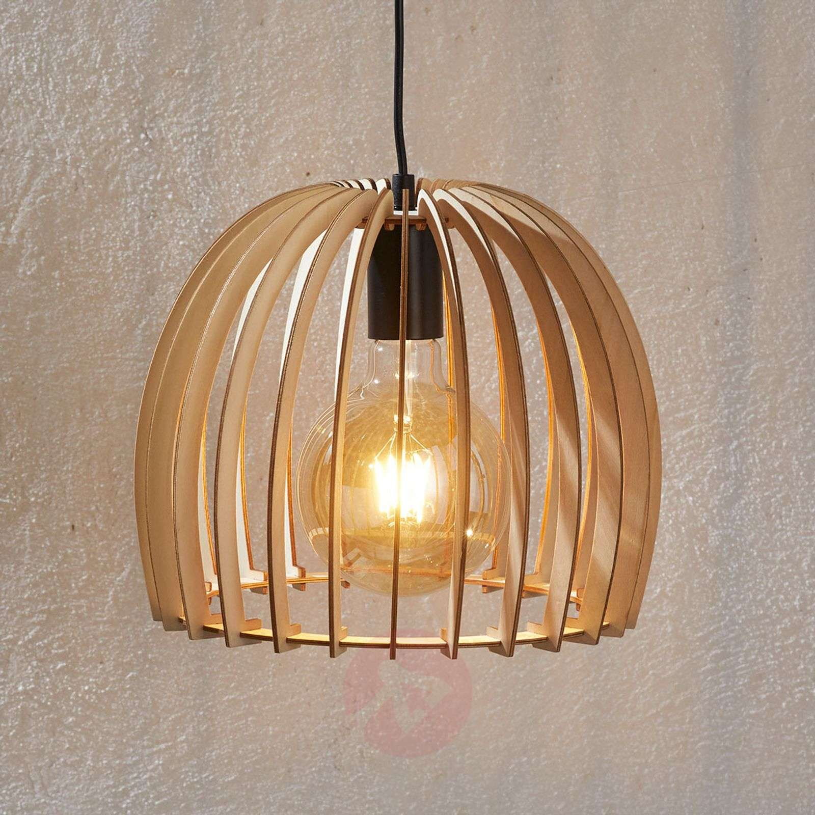 Suspension en bois Bela, Ø 30 cm-9620790-02