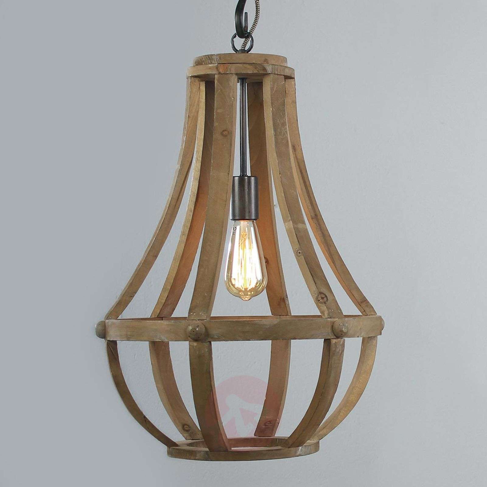 Suspension en bois Liberty Bell-8509776-01