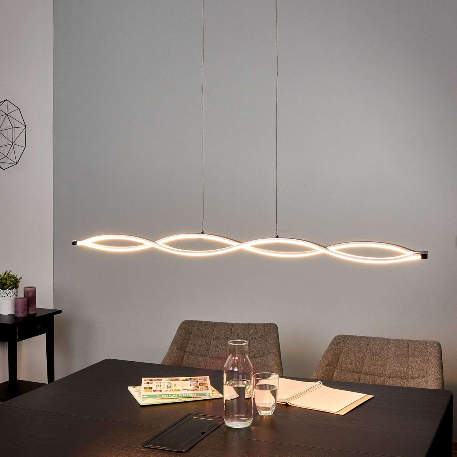 Suspension en forme de vague Tura LED vives-9640063-020