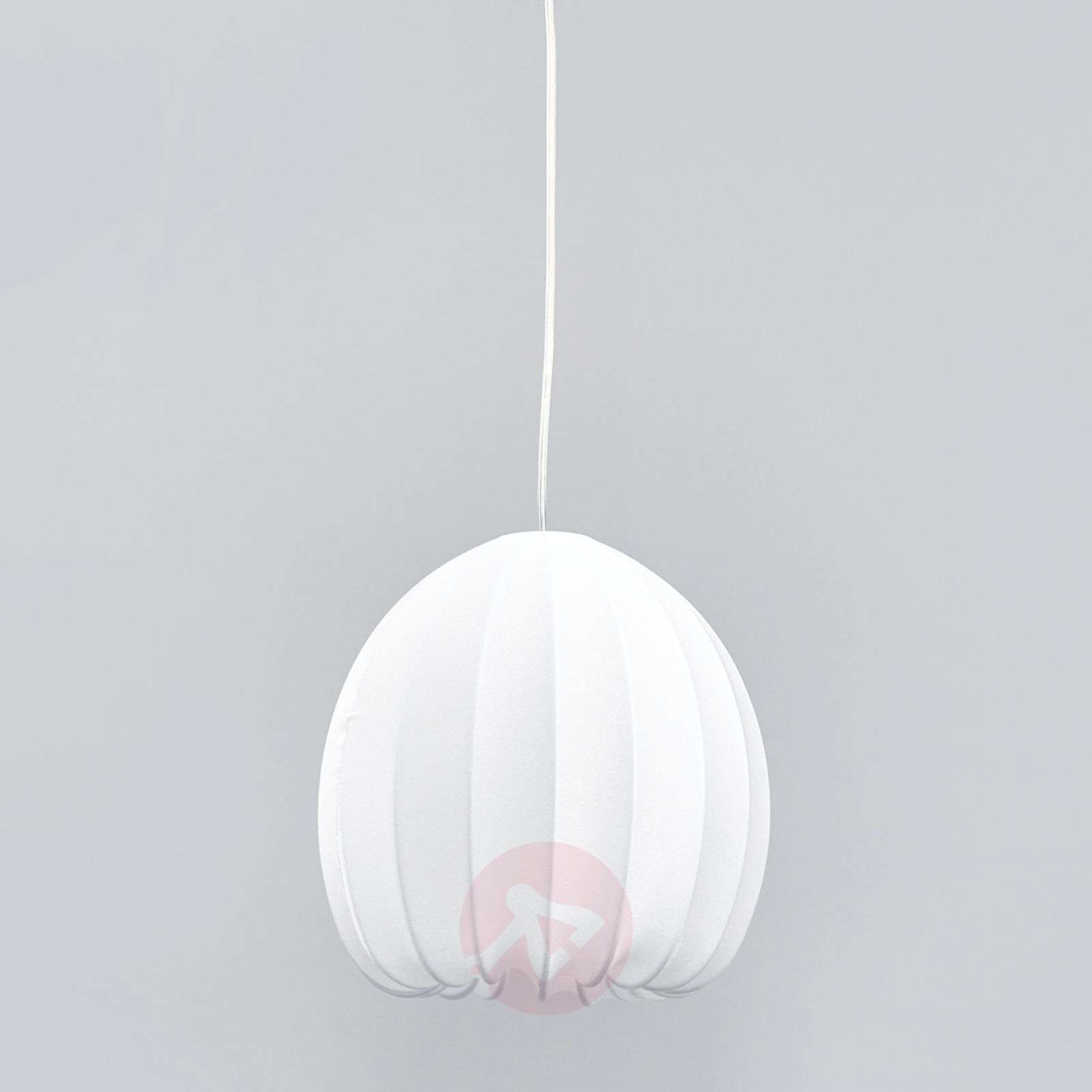 Suspension en textile Muse blanche-1088051-01