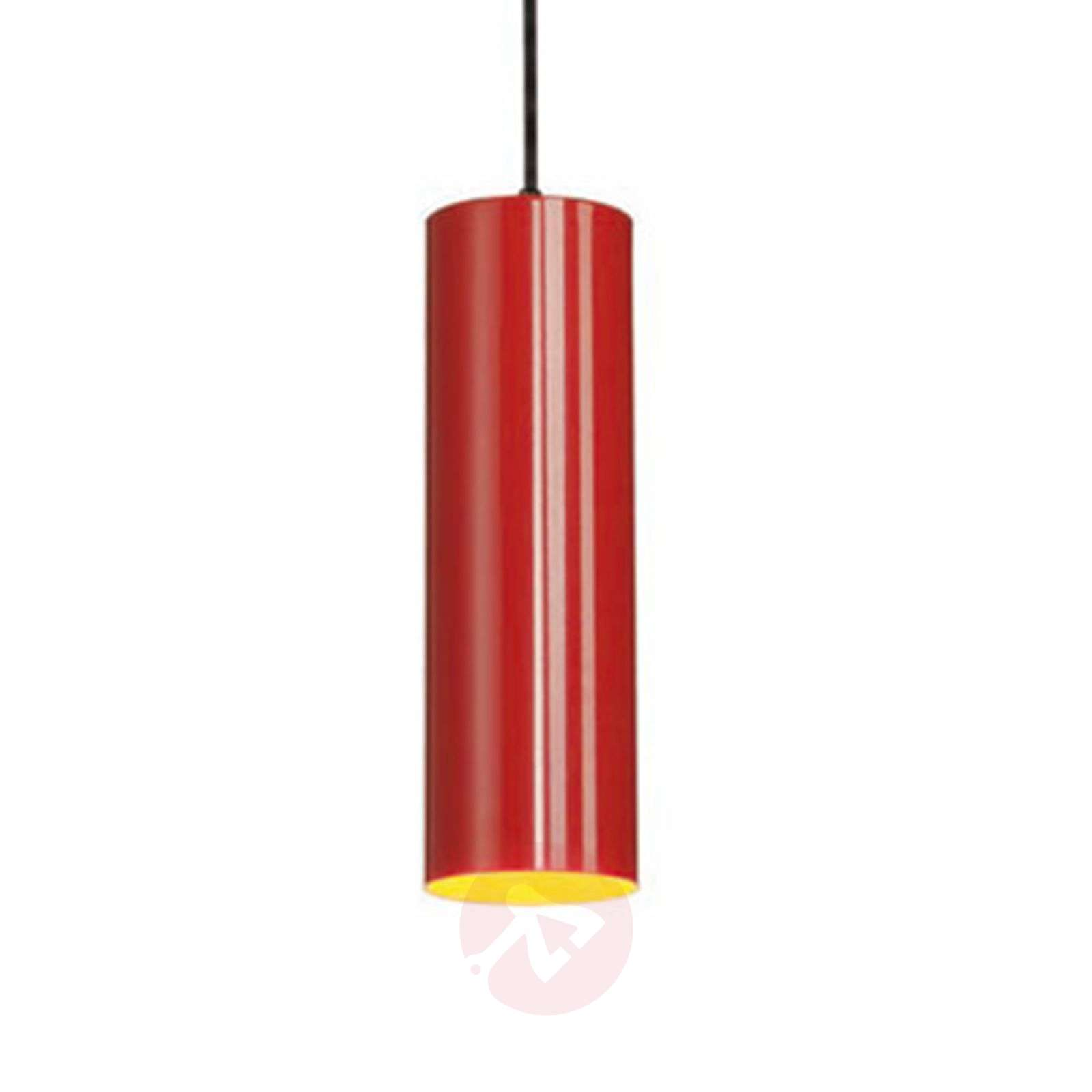 Suspension enola affin e rouge for Luminaire suspension rouge