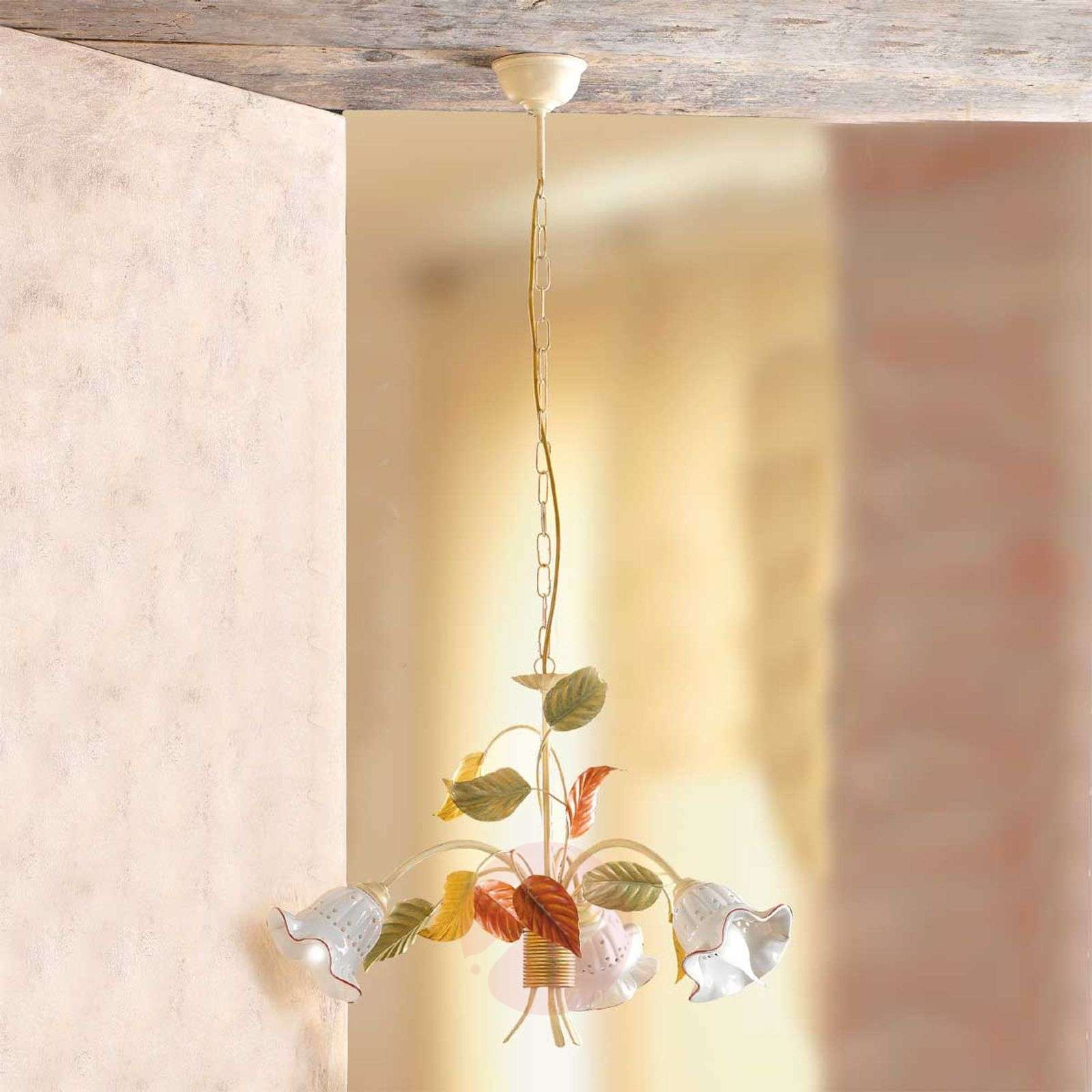 Suspension Flora de style florentin