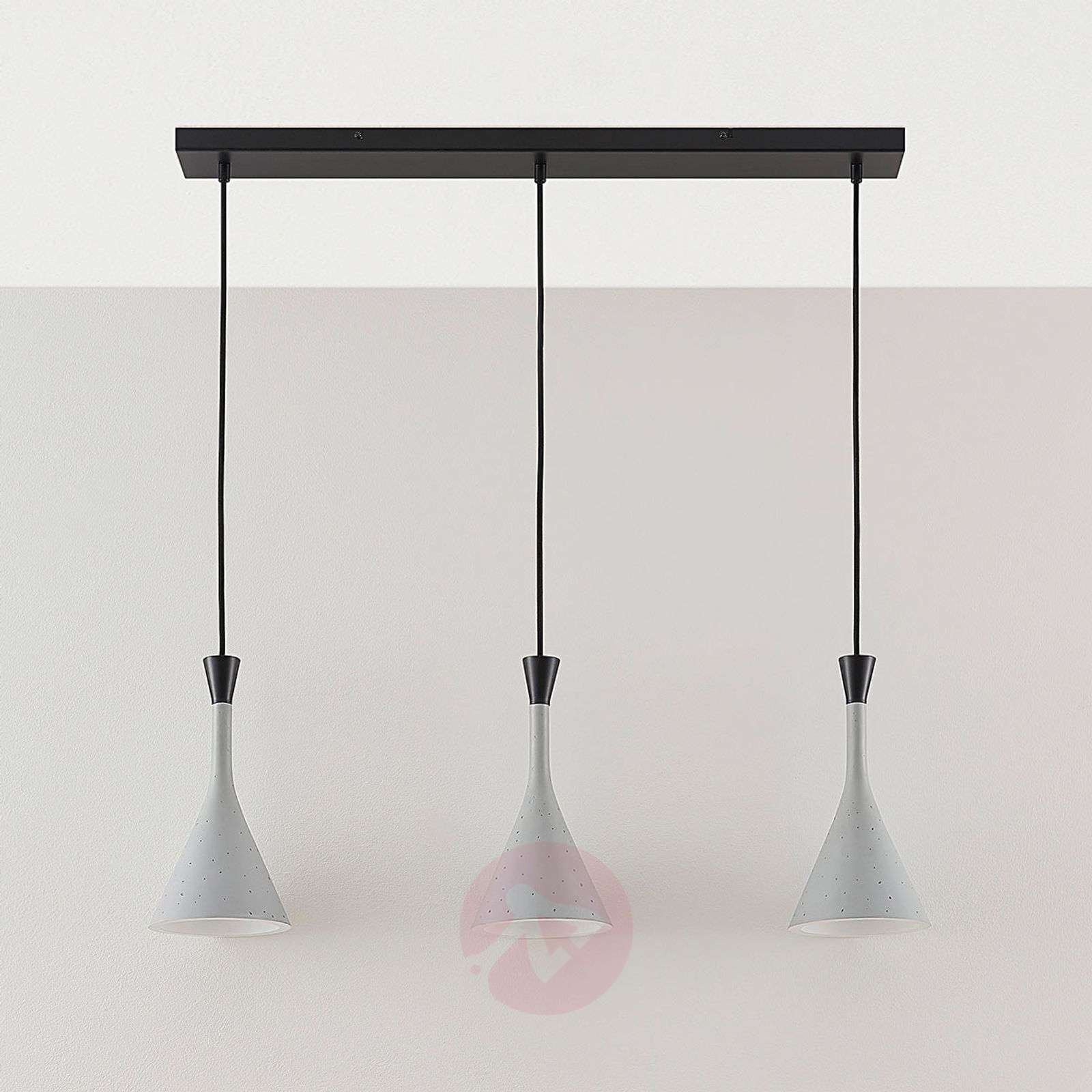 suspension flynn 3 lampes pour table manger. Black Bedroom Furniture Sets. Home Design Ideas