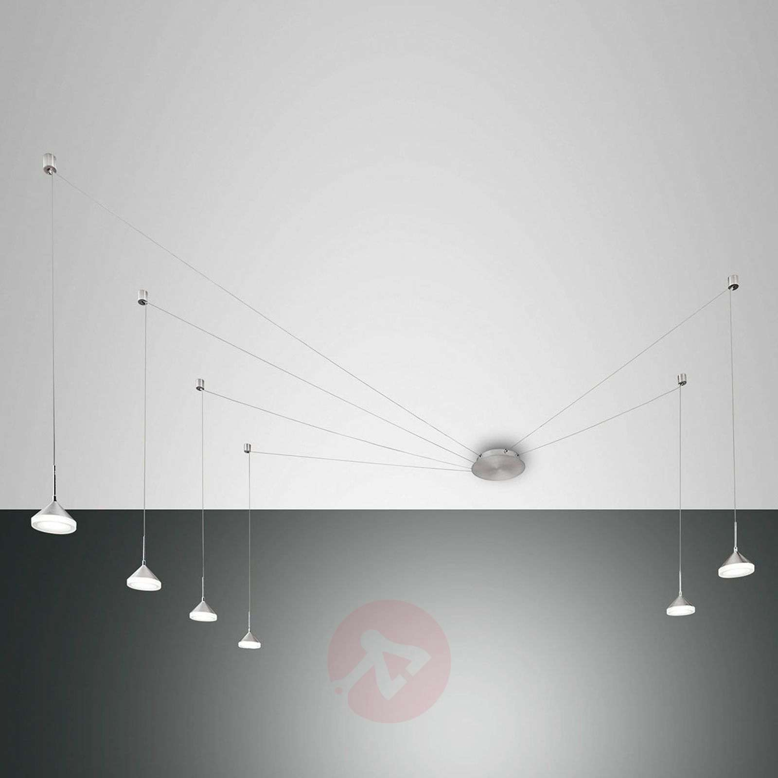 À Isabella Suspension Led Six Lampes jUzVSpLqMG