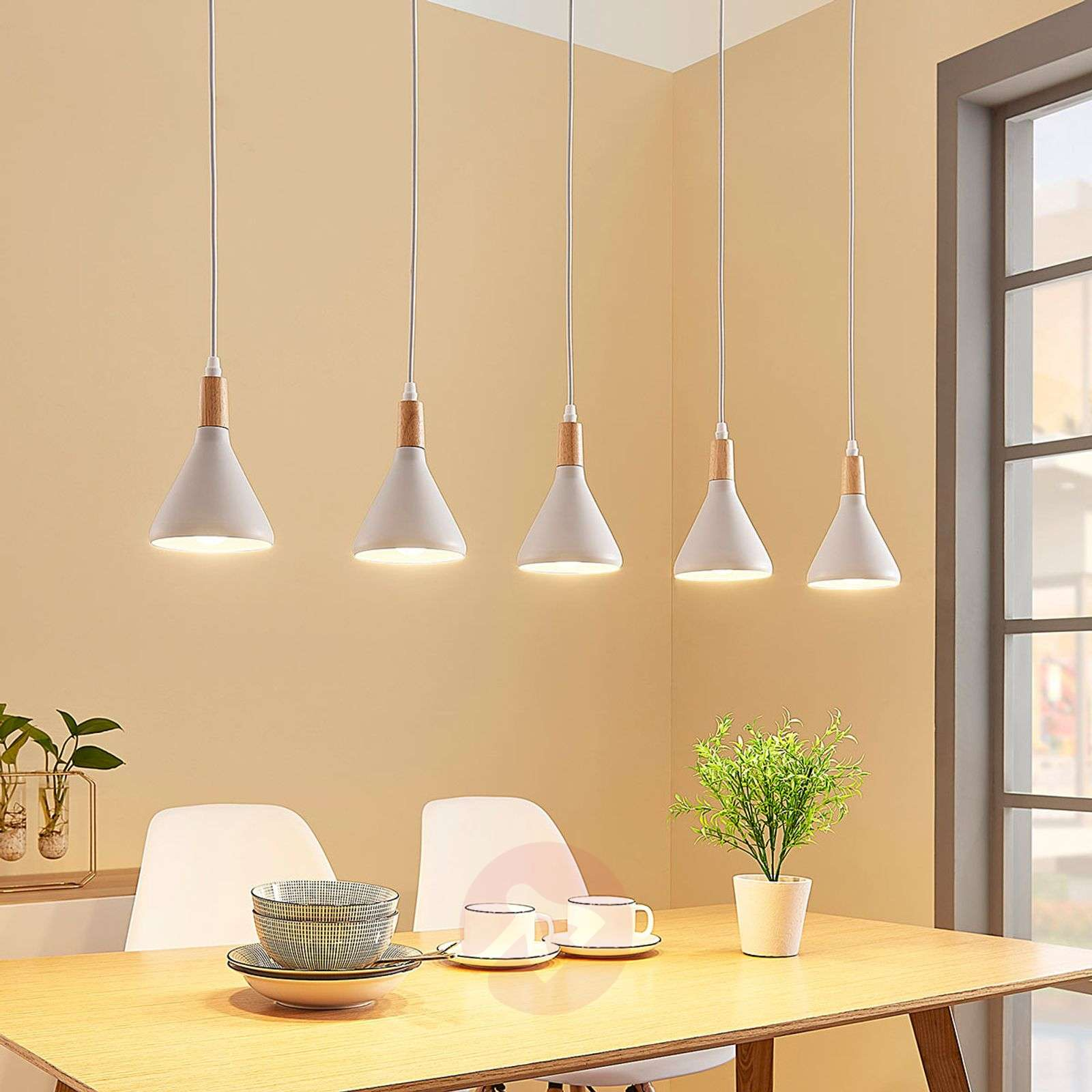 Led Lampes En Suspension 5 Arina À Blanc 7yY6gbfv