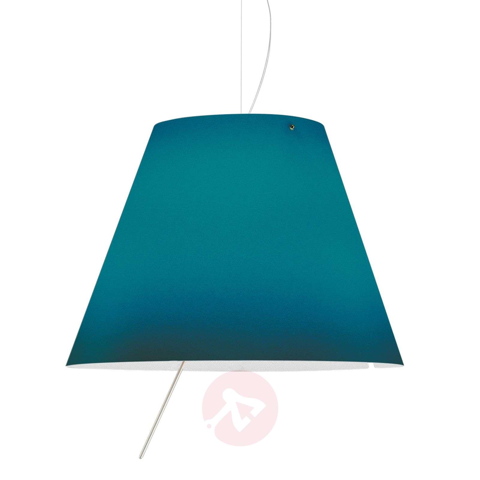 Suspension LED bleue Costanza, réglable en hauteur-6030158-01