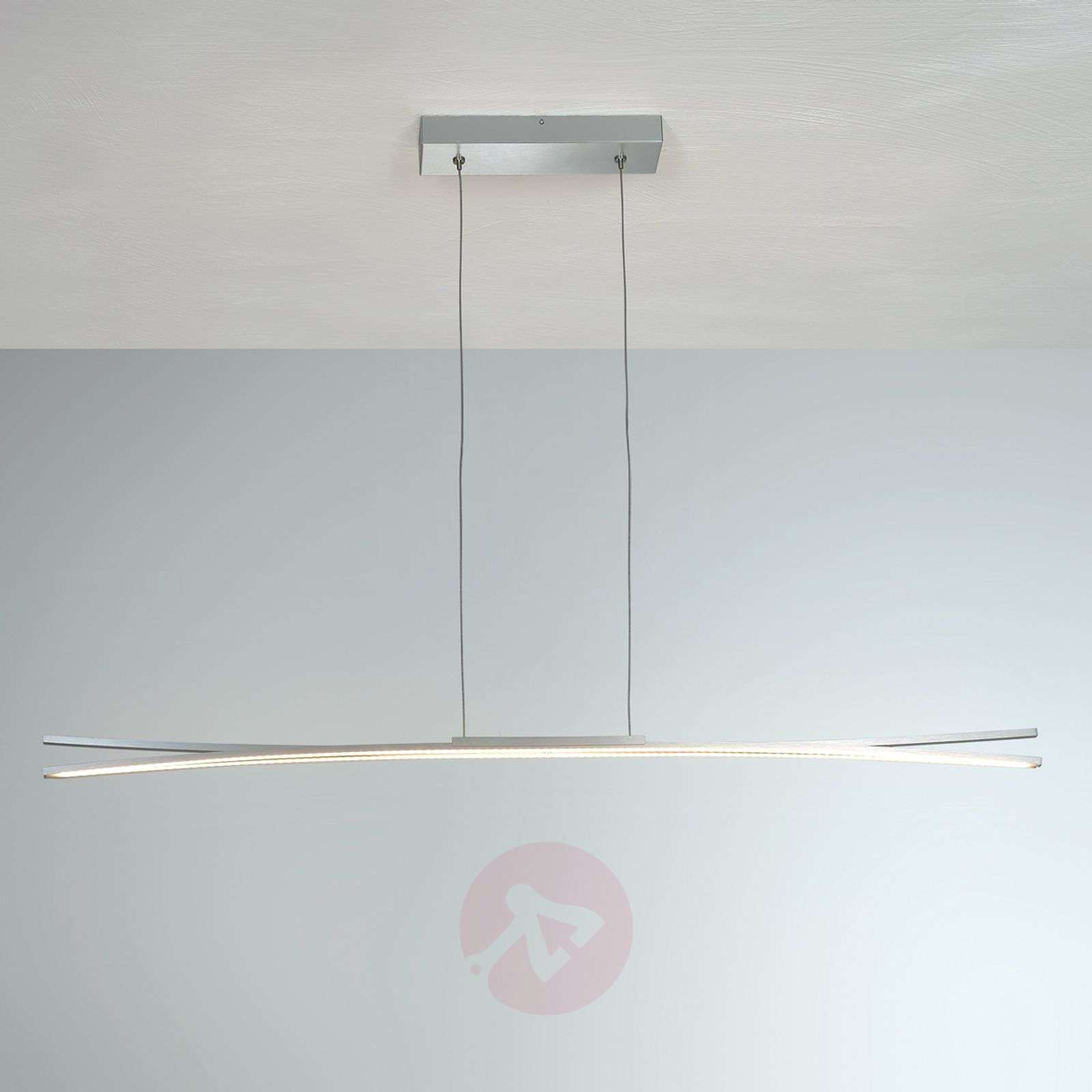 Suspension LED Convex, 120 cm avec bandes LED-1556118-01